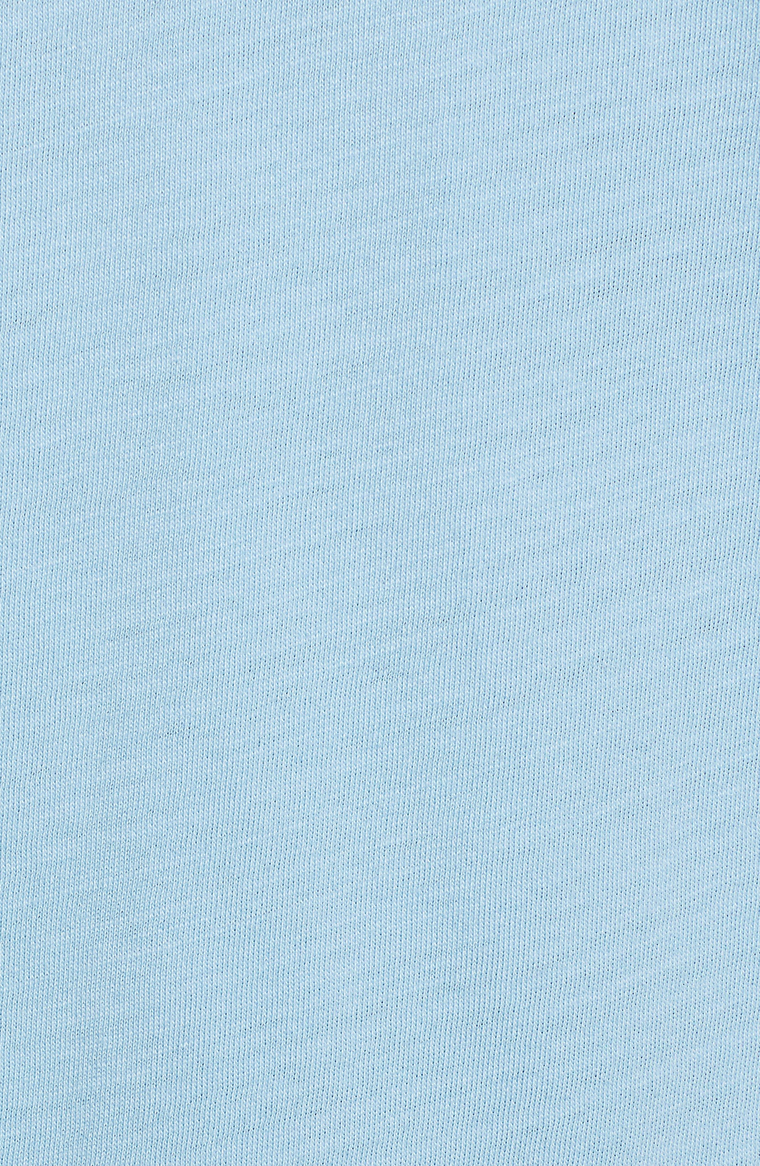 Holiday Light Logo Tee,                             Alternate thumbnail 5, color,                             JAKE BLUE