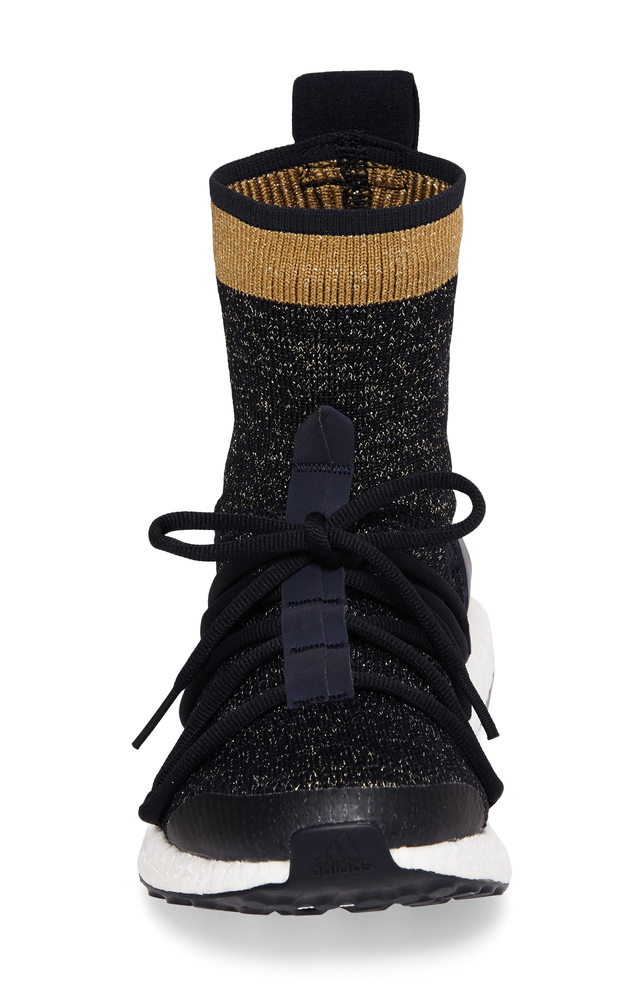 by Stella McCartney UltraBoost X Primeknit Mid Sneaker,                             Alternate thumbnail 4, color,                             400