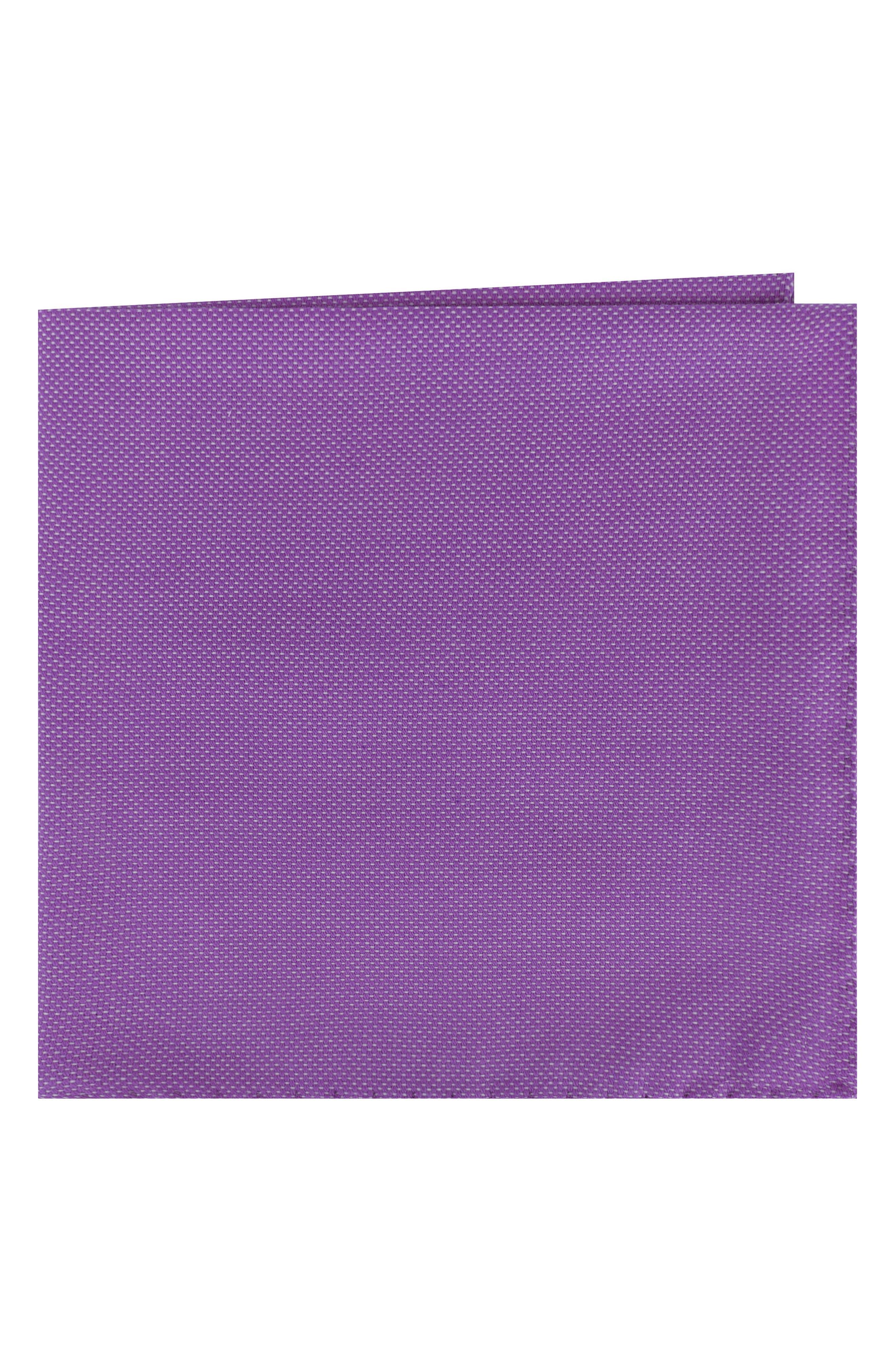 Solid Cotton Pocket Square,                             Main thumbnail 3, color,