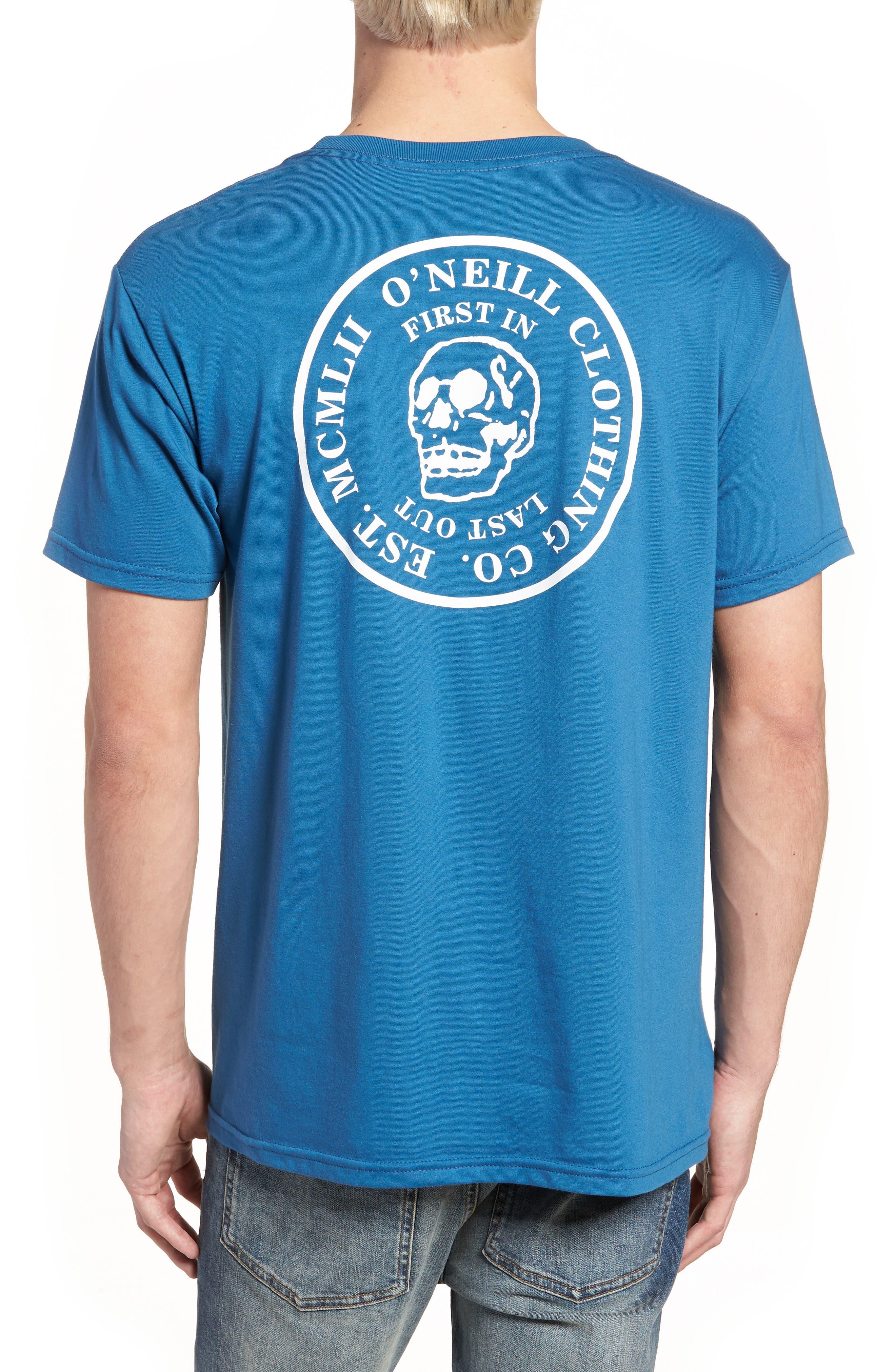 Skully Graphic T-Shirt,                             Alternate thumbnail 2, color,                             400