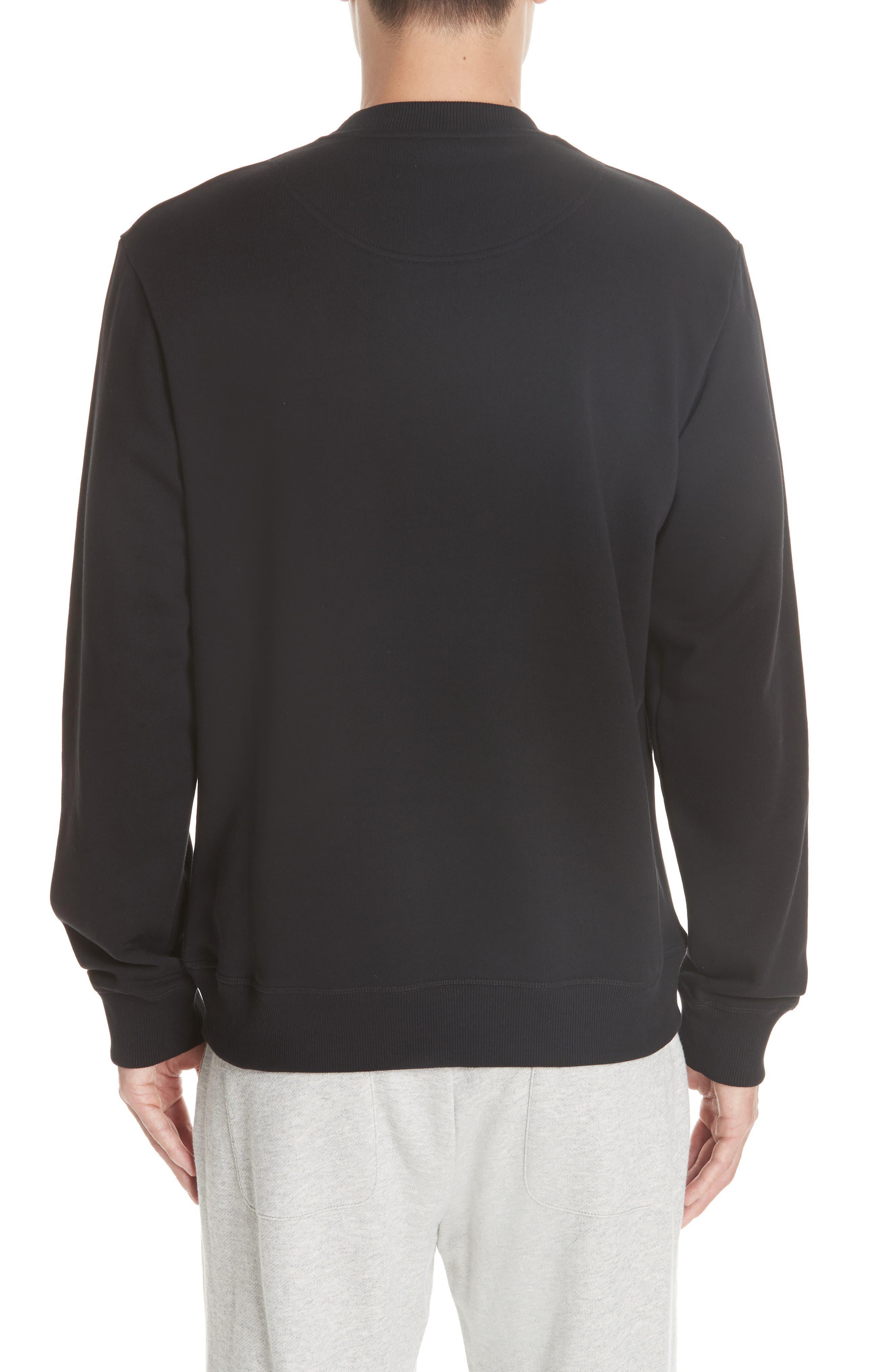 KENZO,                             Hyper Tiger Logo Sweatshirt,                             Alternate thumbnail 2, color,                             001