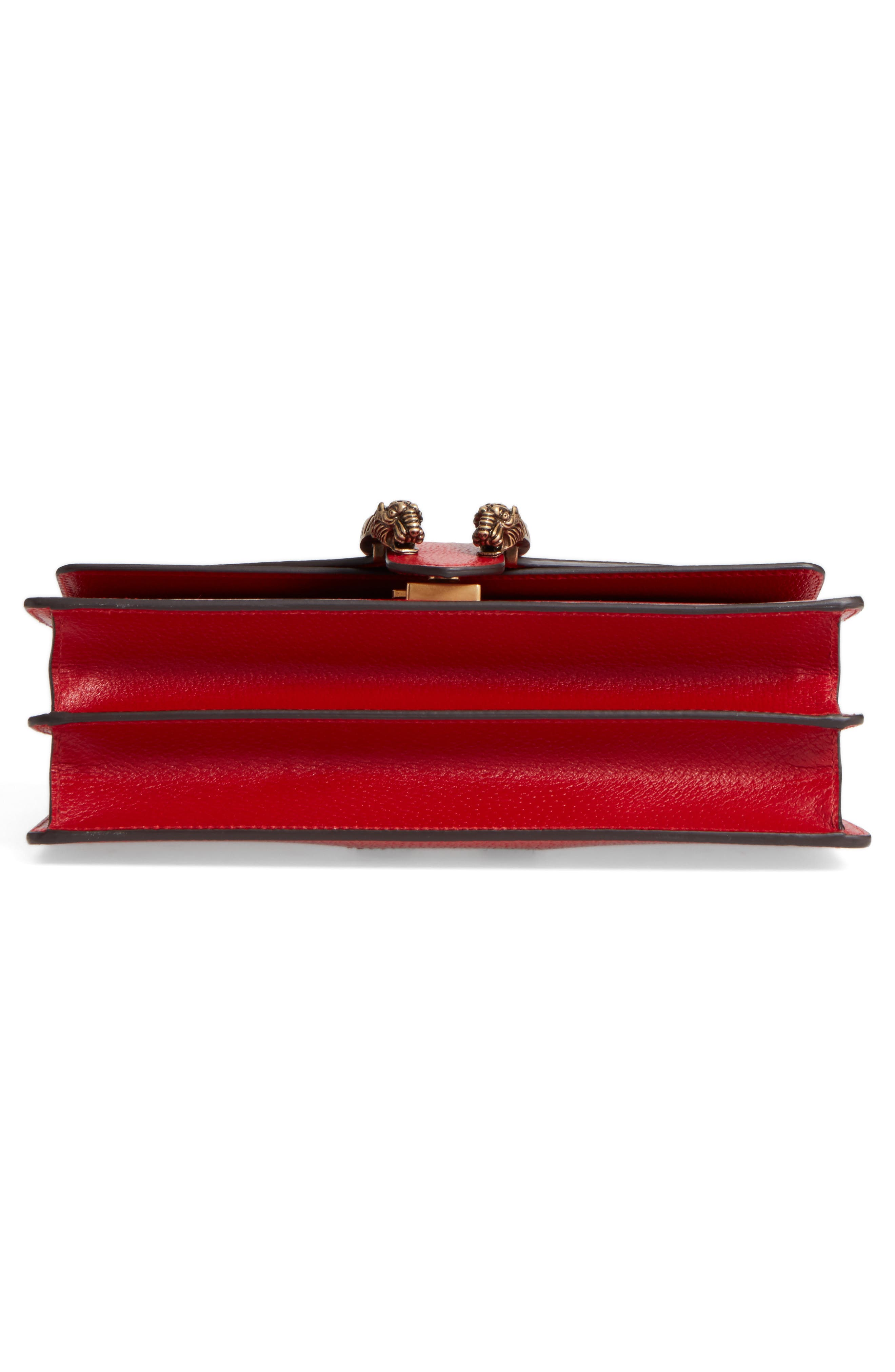 Dionysus Leather Shoulder Bag,                             Alternate thumbnail 6, color,                             625