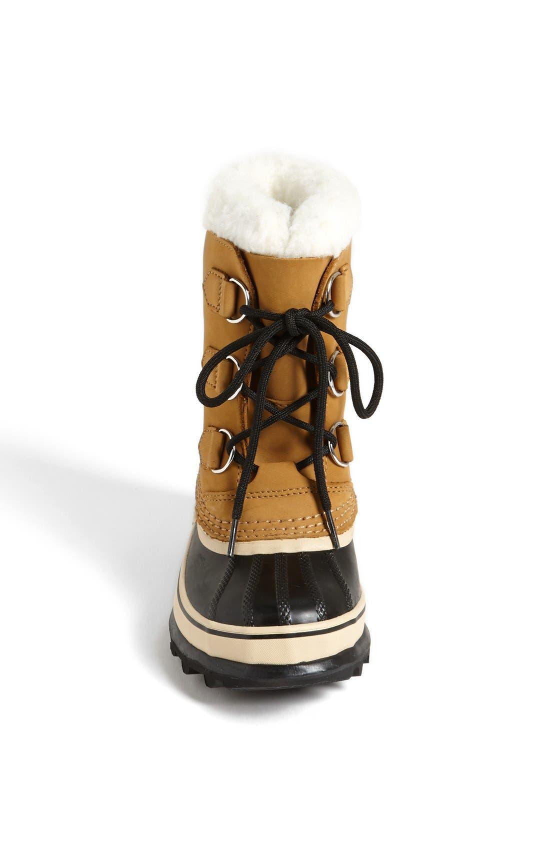 Caribou Waterproof Boot,                             Alternate thumbnail 3, color,                             281