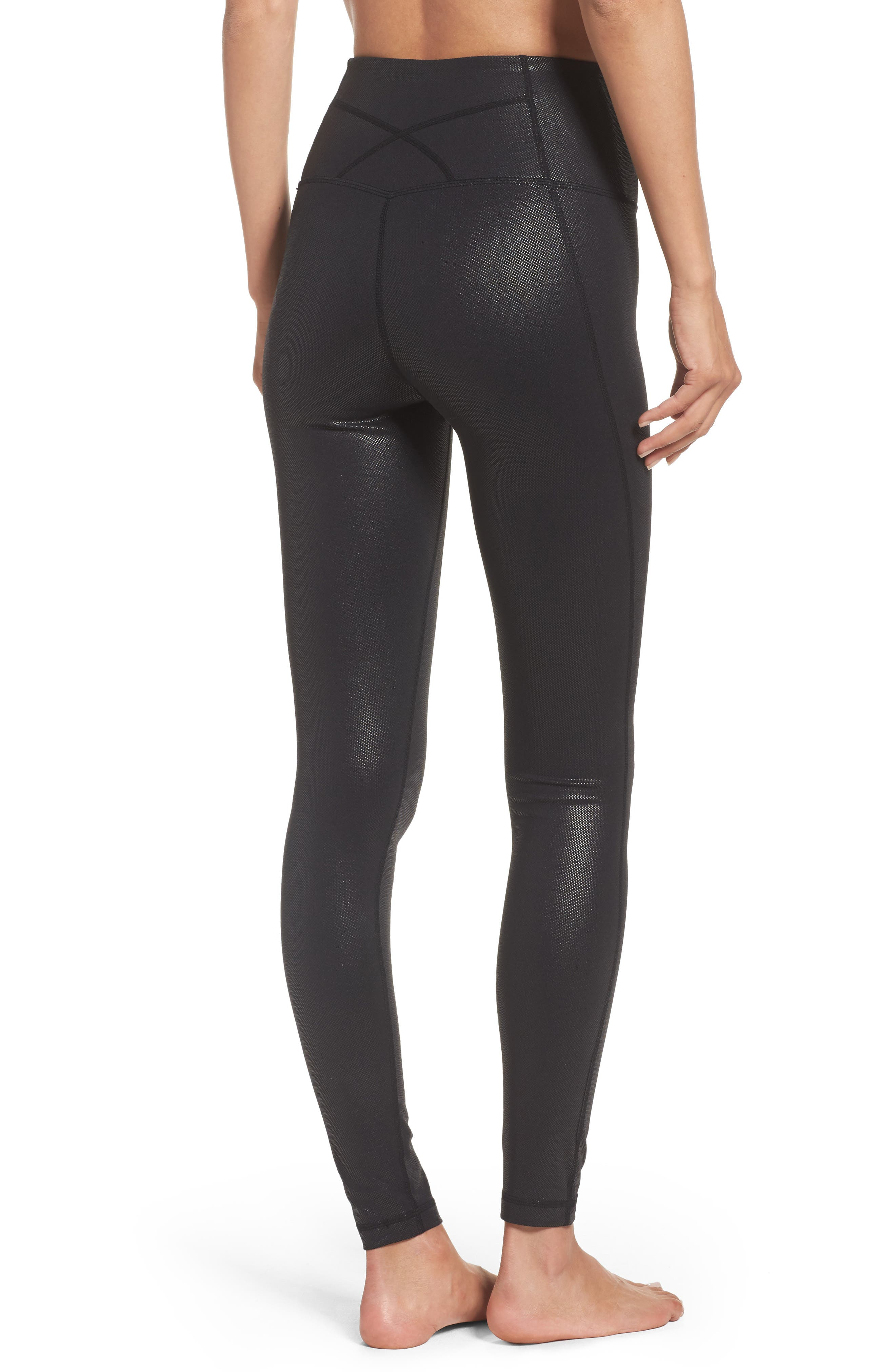 Live-In High Waist Leggings,                             Alternate thumbnail 2, color,                             002