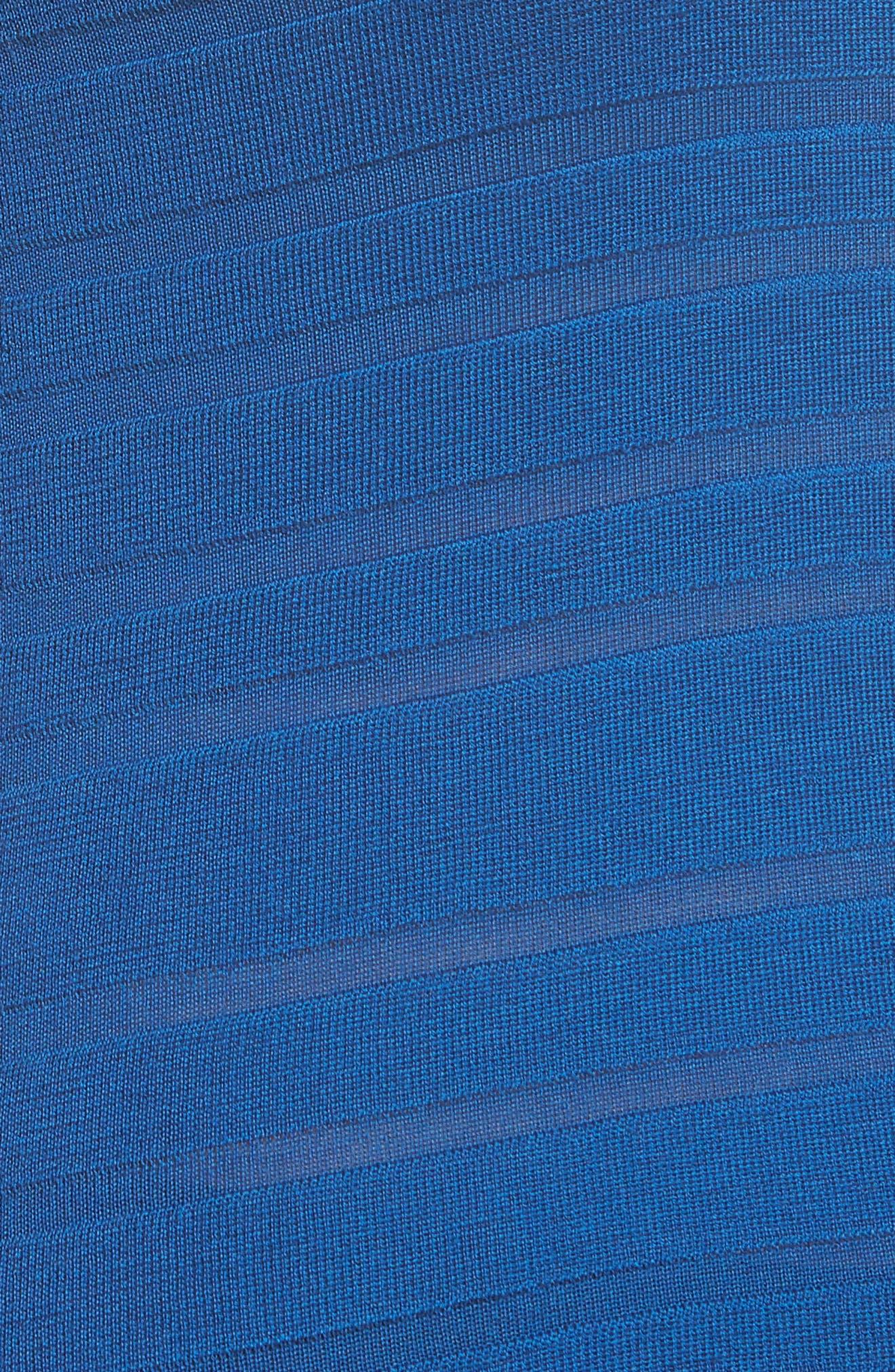 Finea Stripe Textured Wool Sweater,                             Alternate thumbnail 10, color,