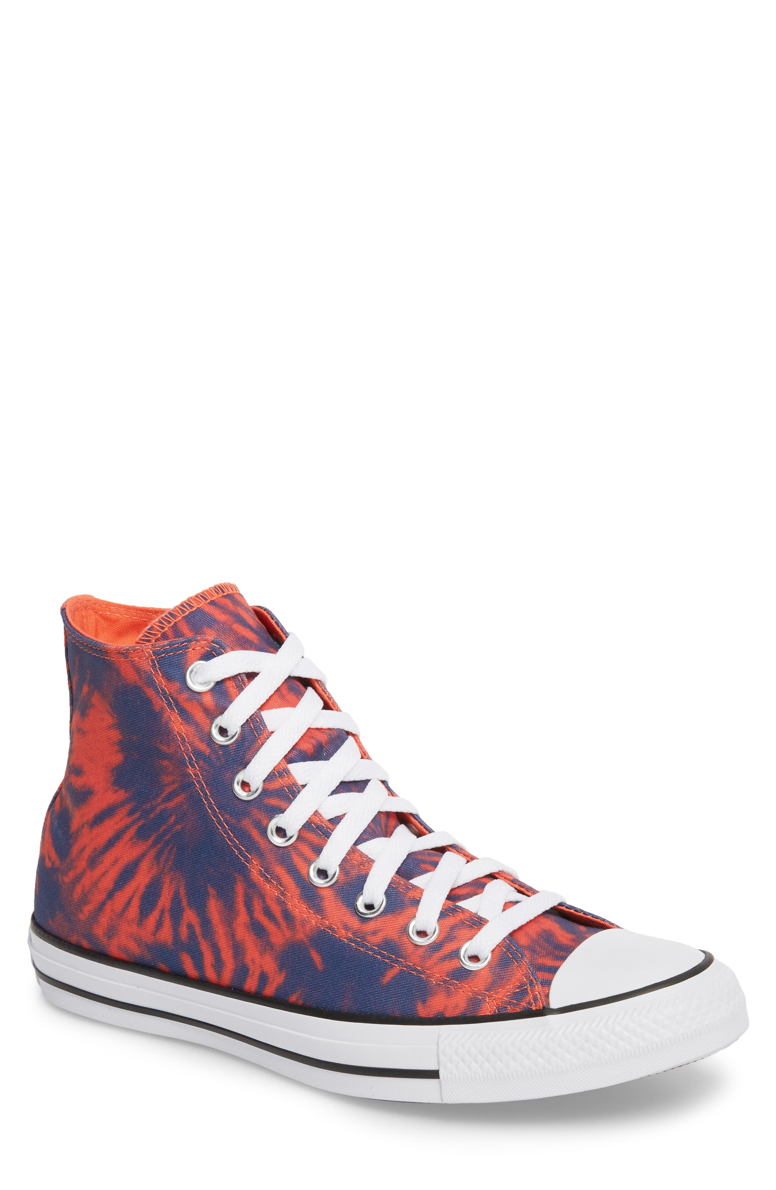 Chuck Taylor<sup>®</sup> All Star<sup>®</sup> Tie Dye High Top Sneaker,                             Main thumbnail 1, color,