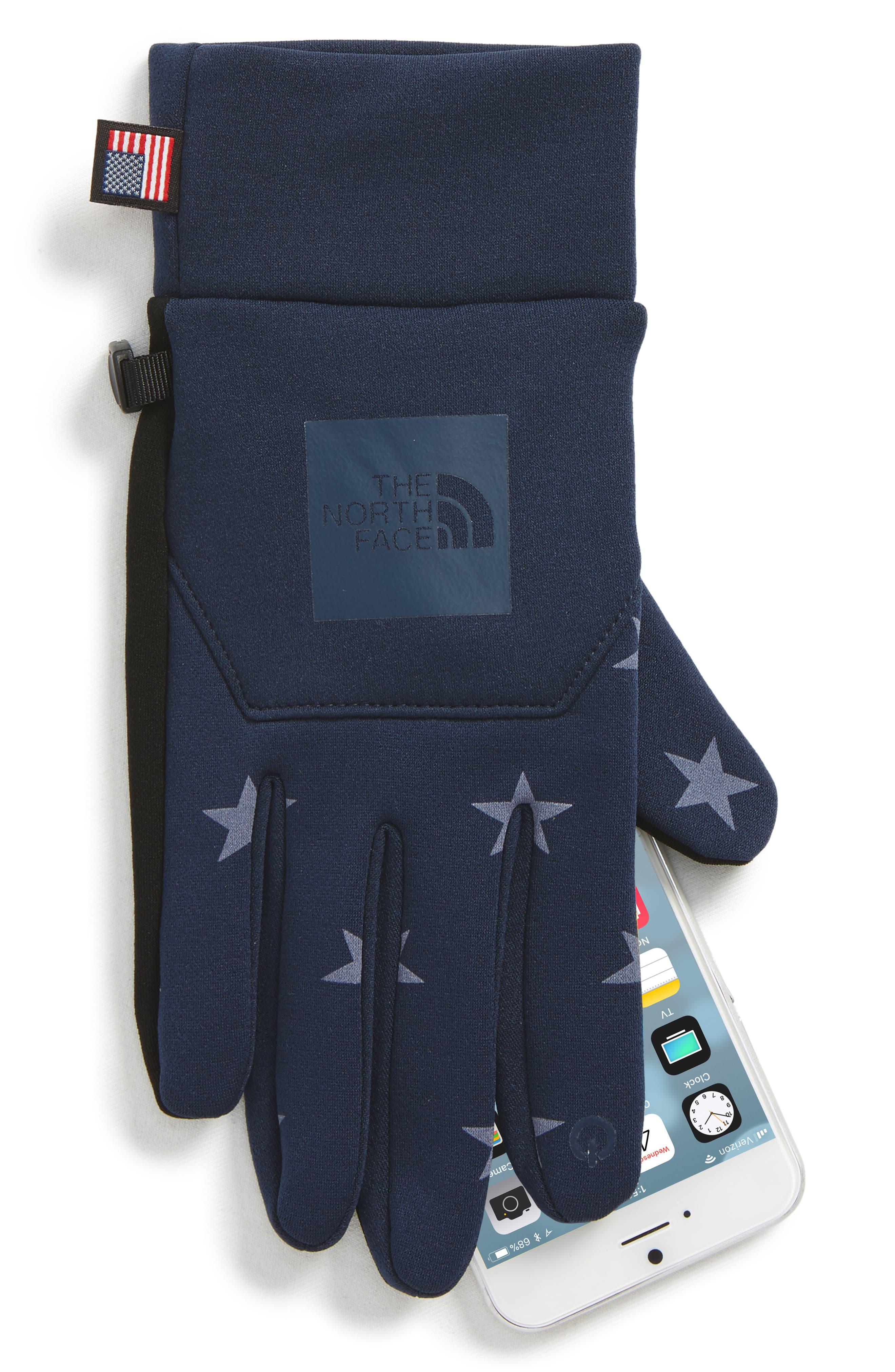 International Collection E-Tip Gloves,                             Alternate thumbnail 6, color,