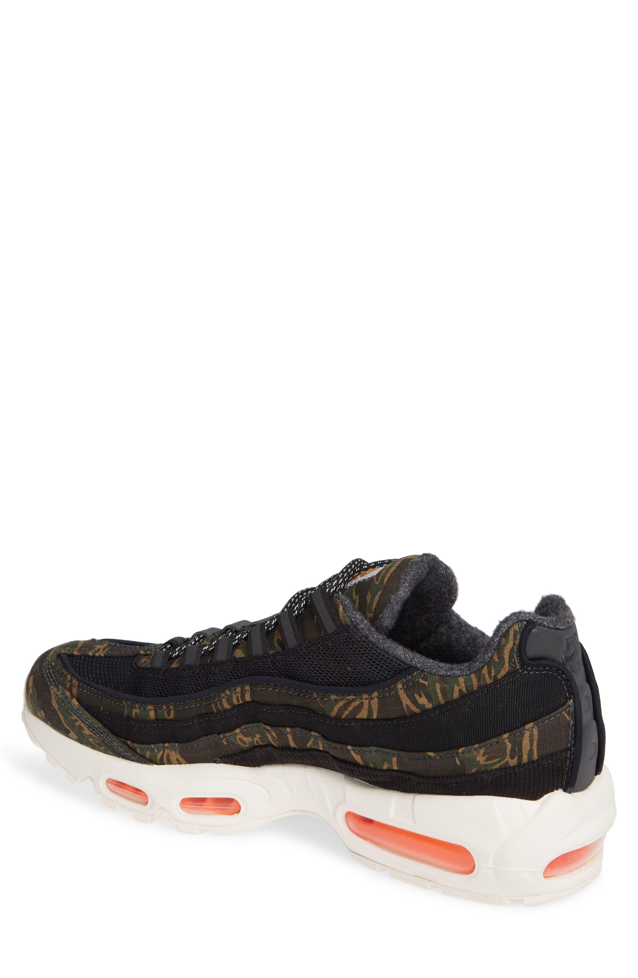 NIKE,                             x Carhartt Air Max 95 WIP Sneaker,                             Alternate thumbnail 2, color,                             001