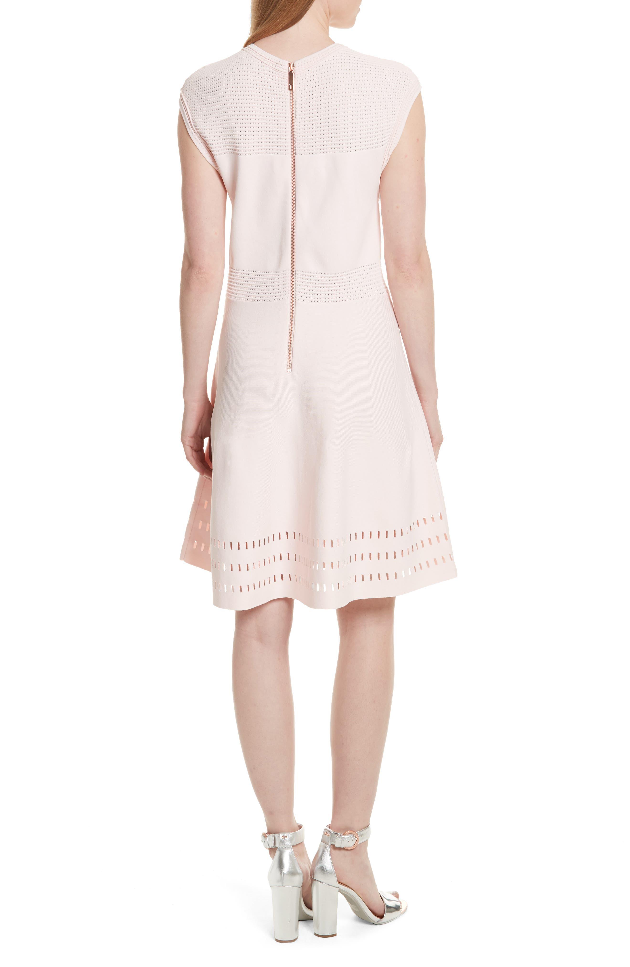 Aurbray Knit Skater Dress,                             Alternate thumbnail 2, color,                             672