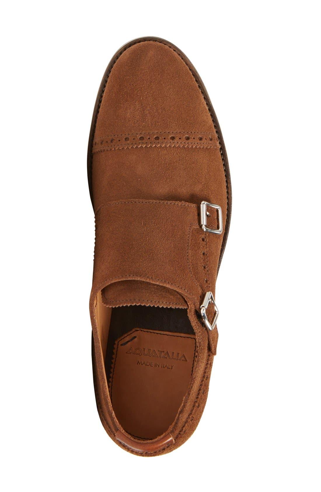 'Fallon' Weatherproof Monk Strap Shoe,                             Alternate thumbnail 9, color,