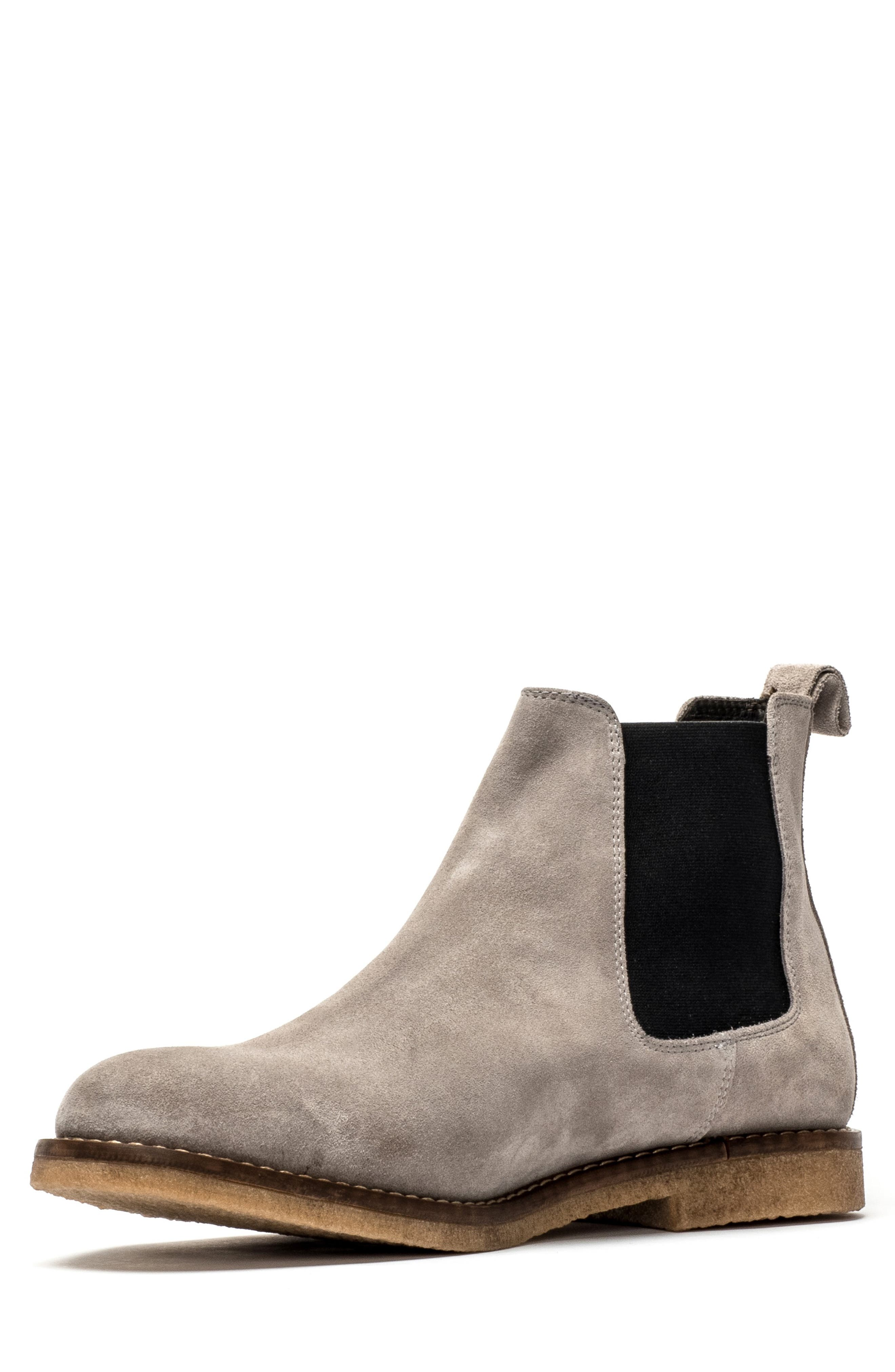Gertrude Valley Water Repellent Chelsea Boot,                             Alternate thumbnail 7, color,                             STONE