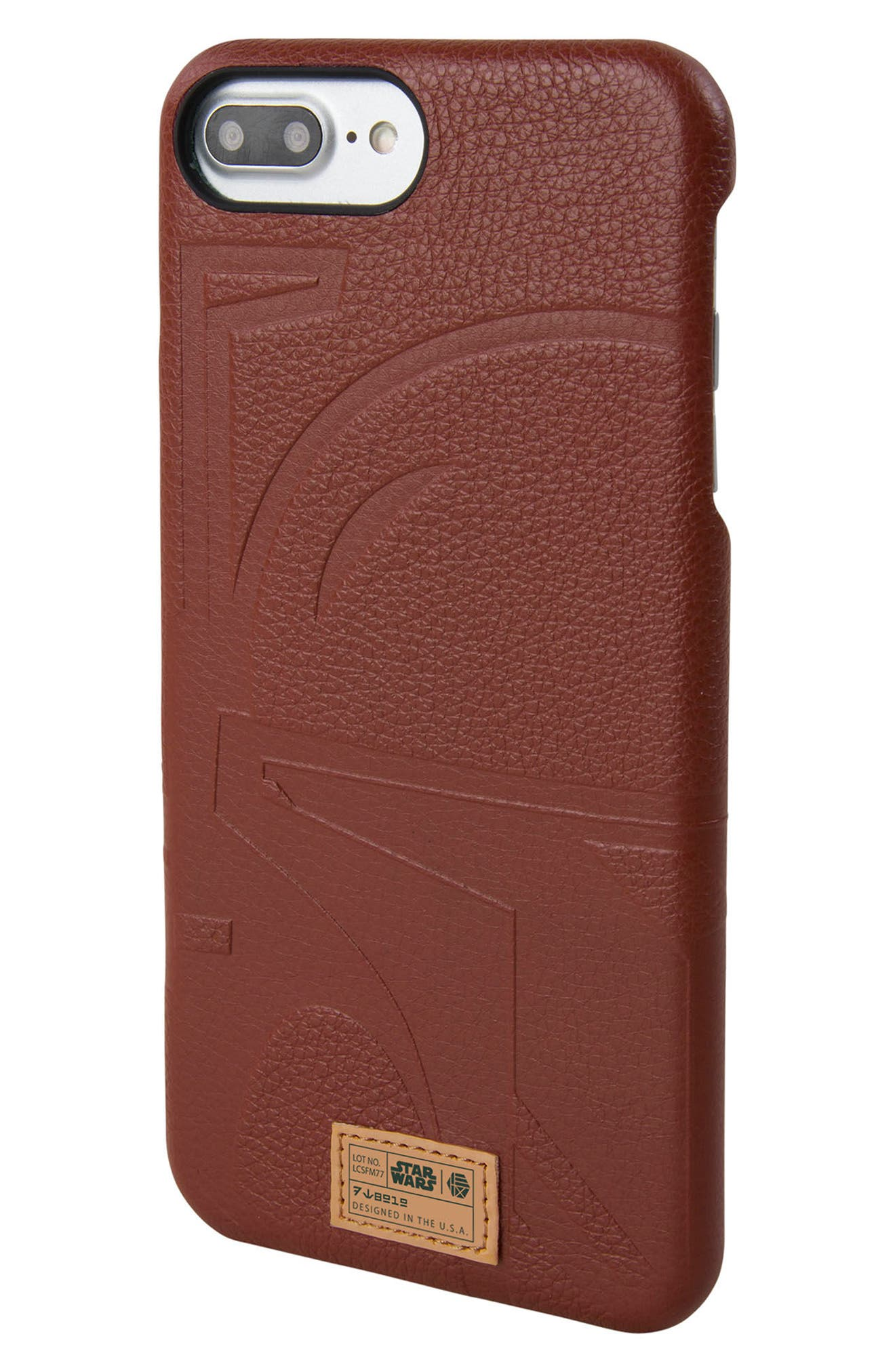 HEX,                             Boba Fett iPhone 6/6s/7/8 Plus Case,                             Alternate thumbnail 2, color,                             930