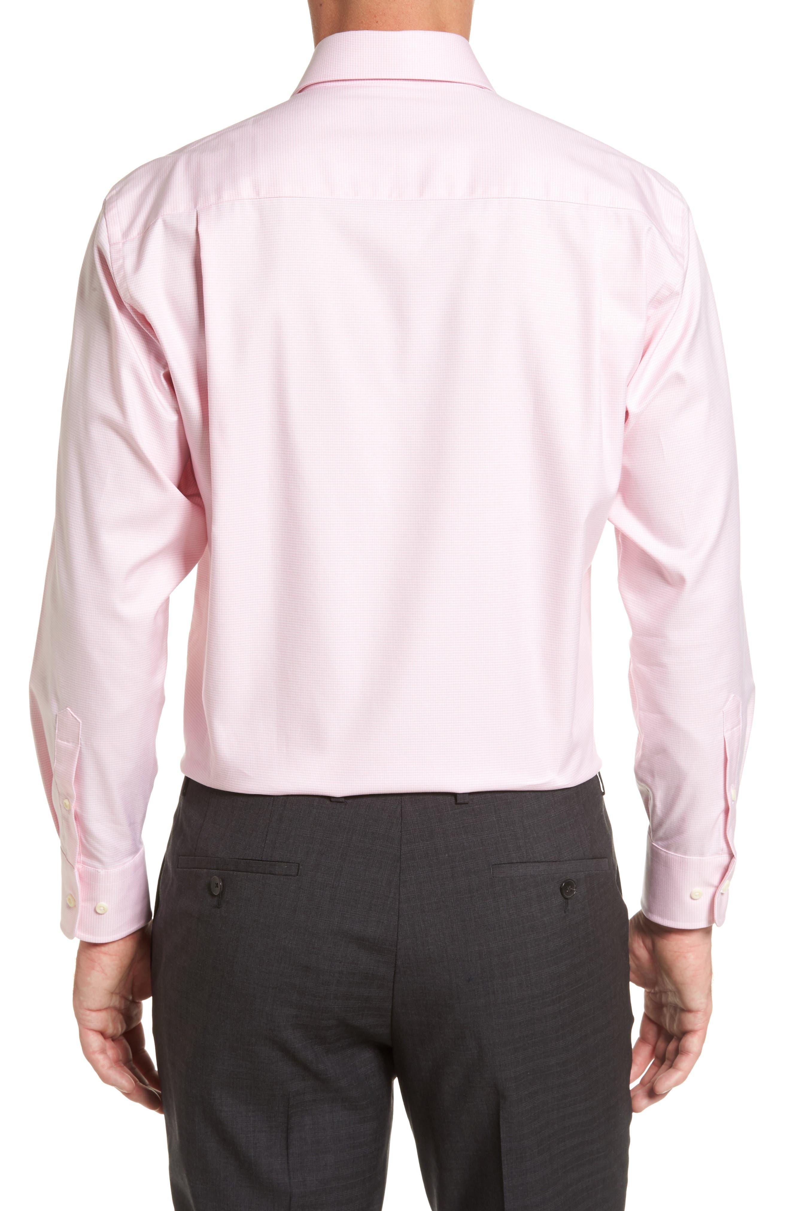 Regular Fit Houndstooth Dress Shirt,                             Alternate thumbnail 2, color,                             650