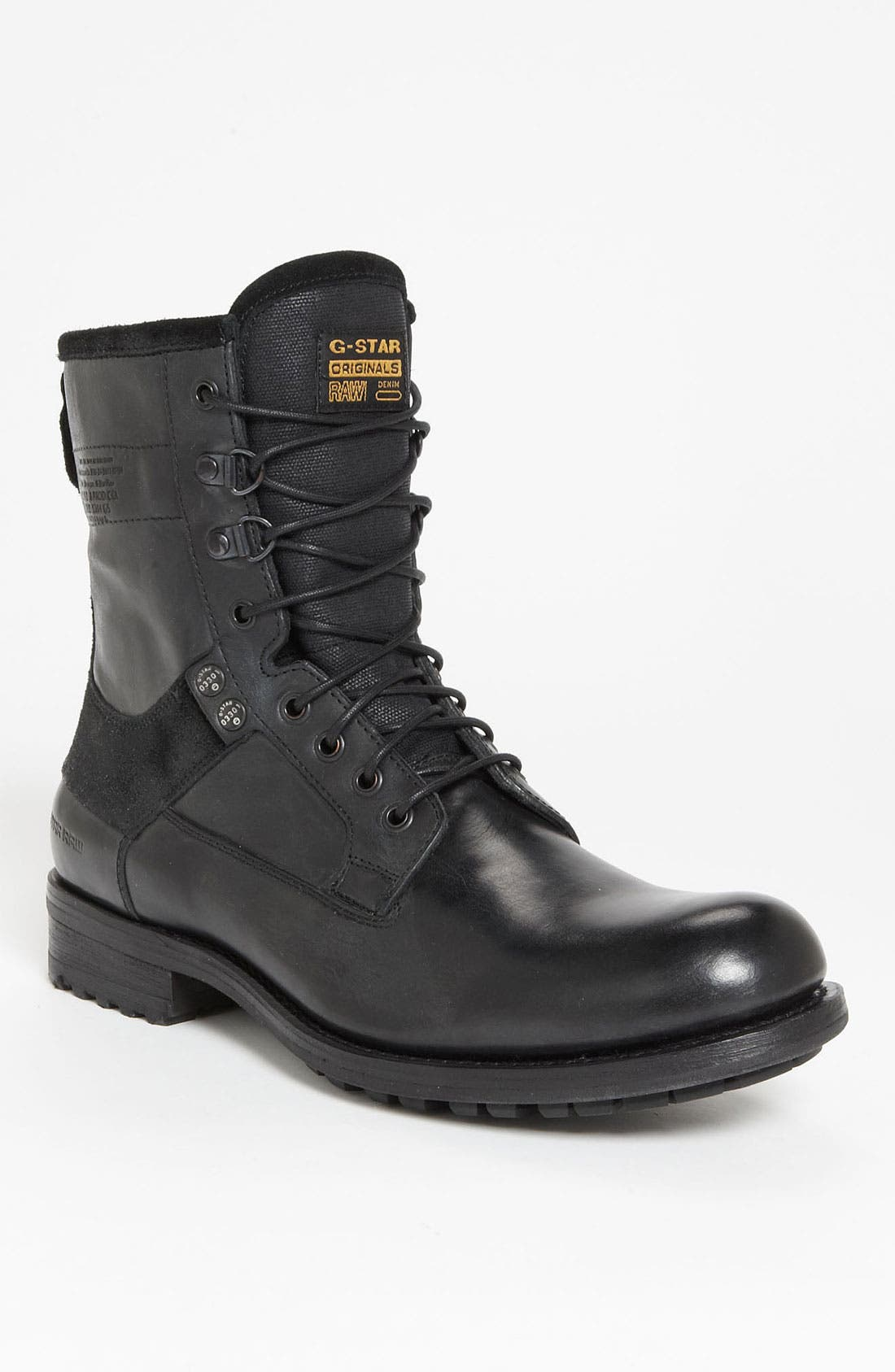 'Patton III Marker' Boot,                             Main thumbnail 1, color,                             001