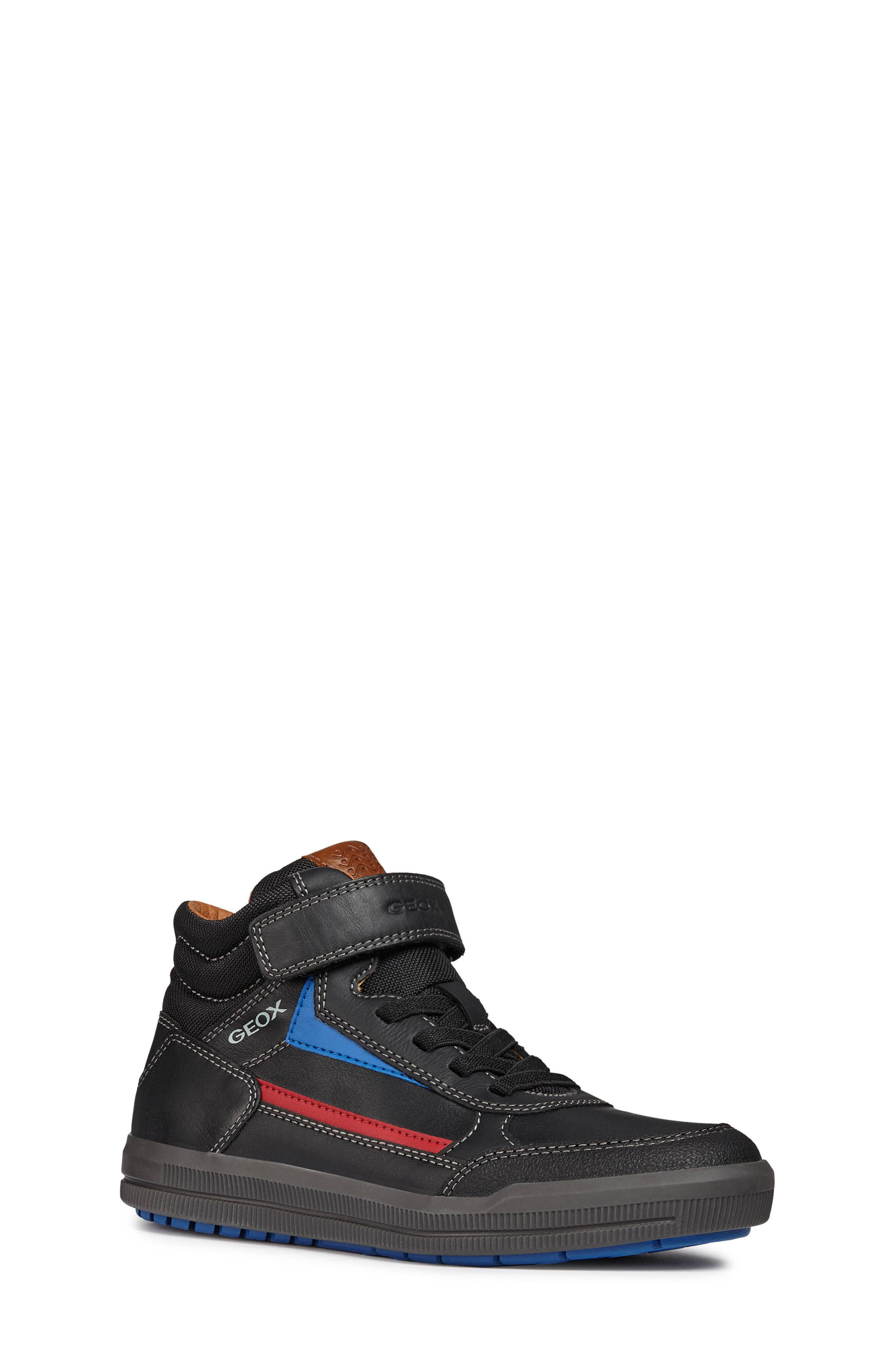 Arzach Mid Top Sneaker,                         Main,                         color, BLACK/RED