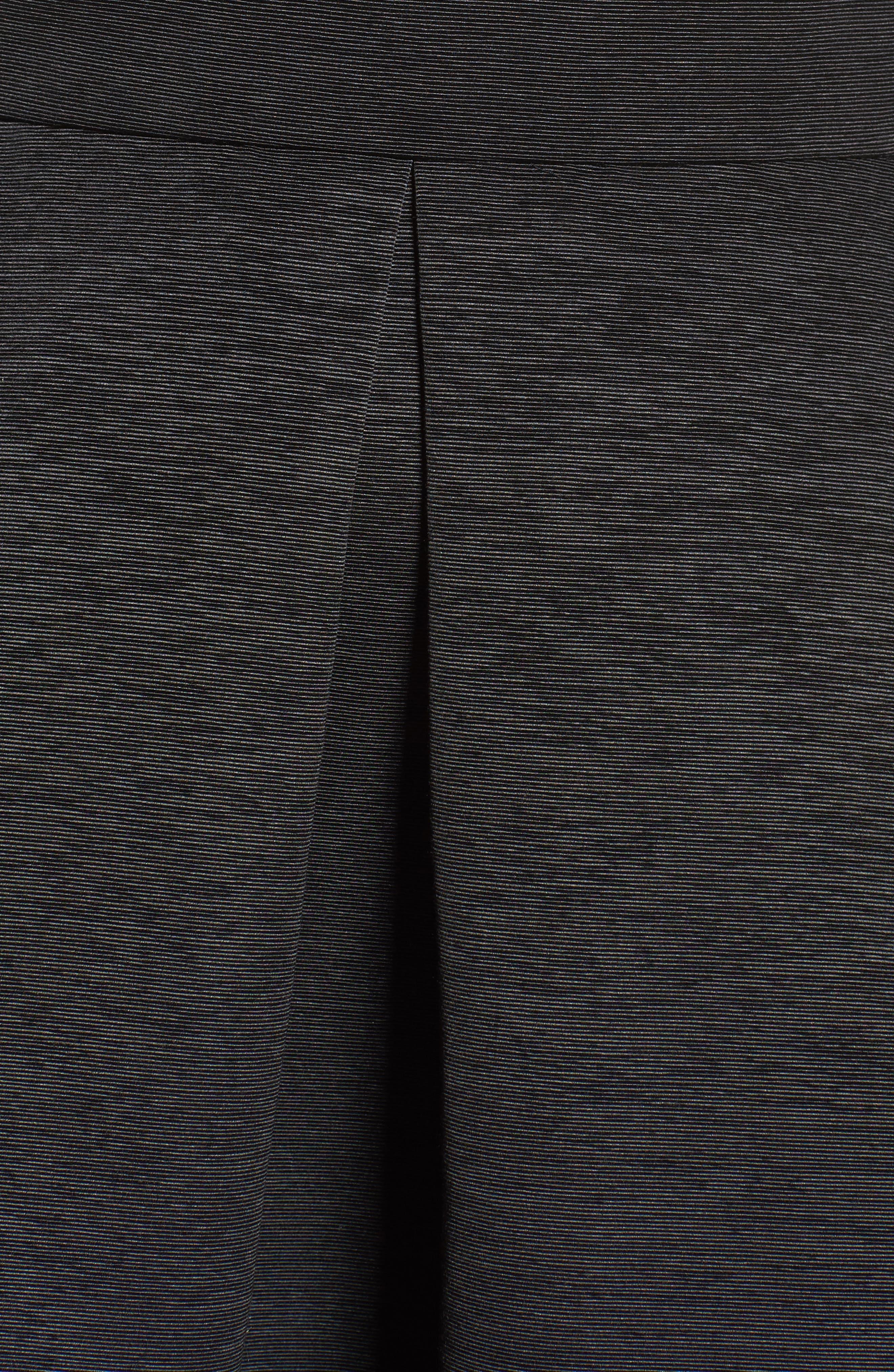Off the Shoulder A-Line Dress,                             Alternate thumbnail 7, color,                             BLACK