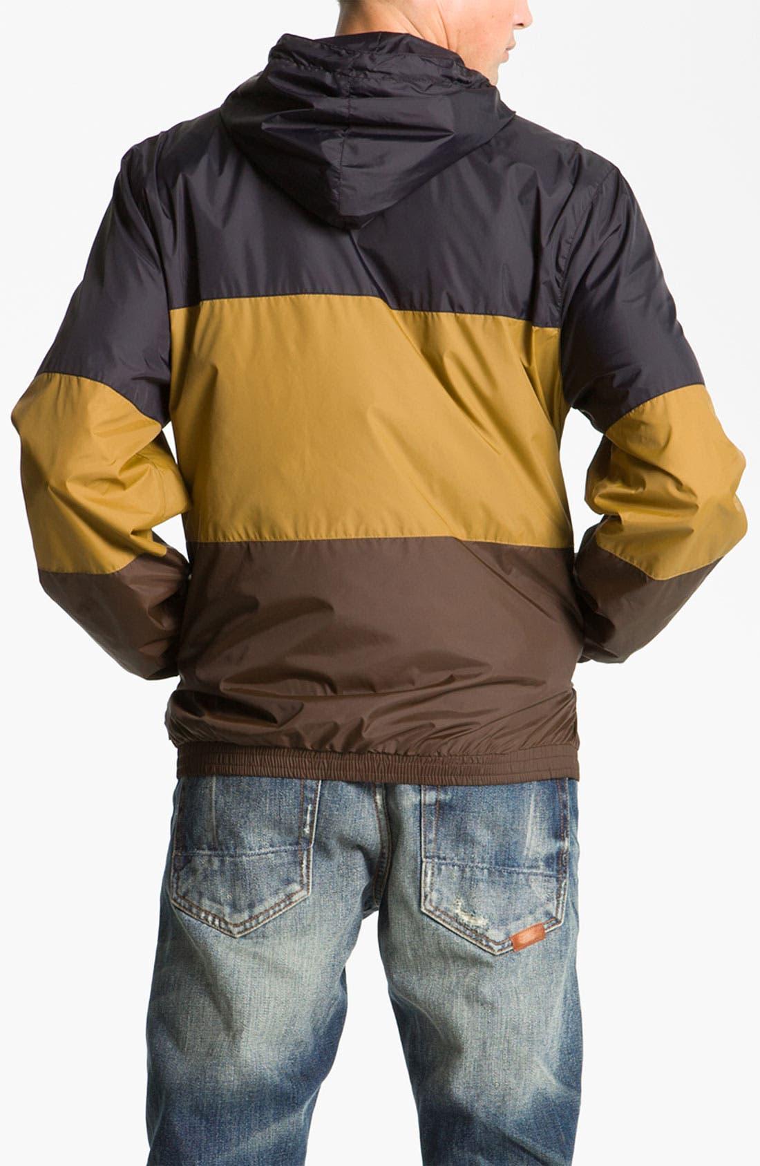 'Magnus' Windbreaker Jacket,                             Alternate thumbnail 3, color,                             001