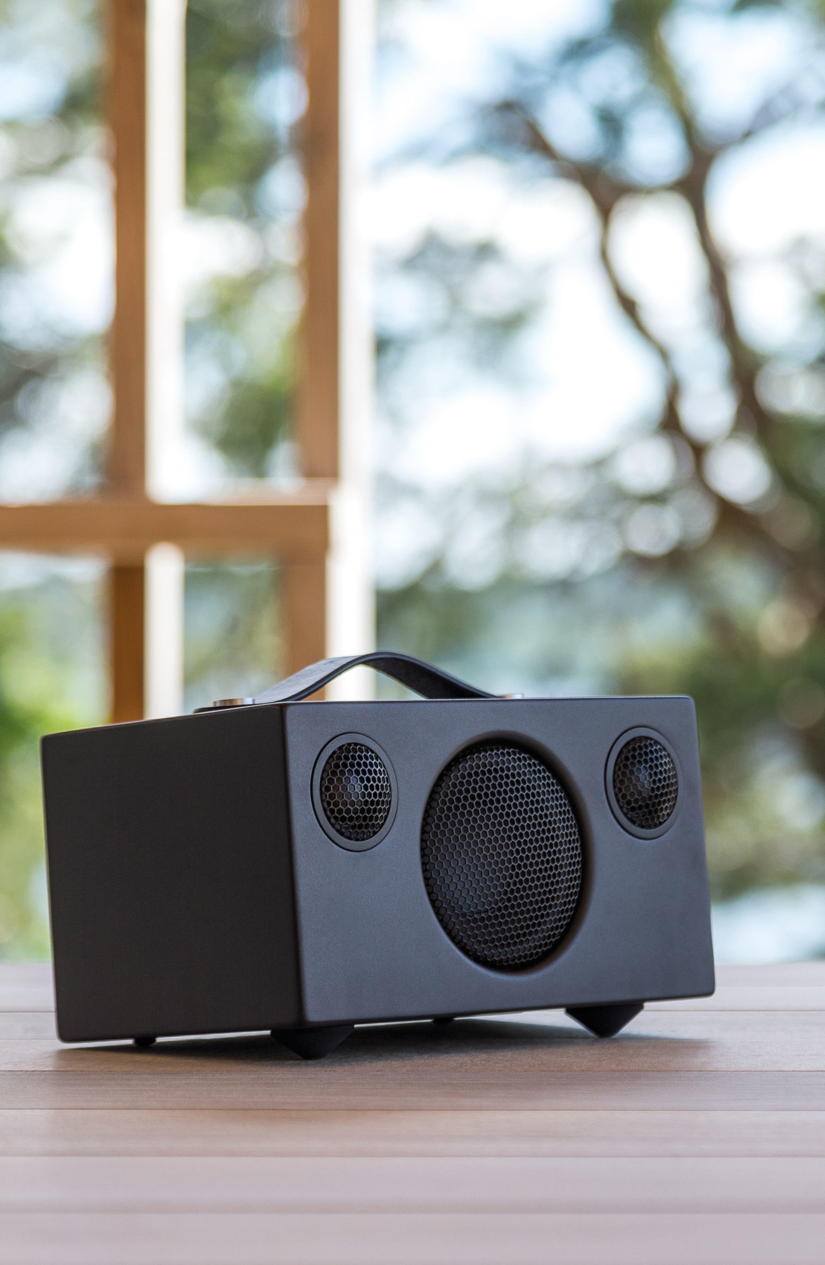 Addon T3 Portable Speaker,                             Alternate thumbnail 6, color,                             COAL BLACK