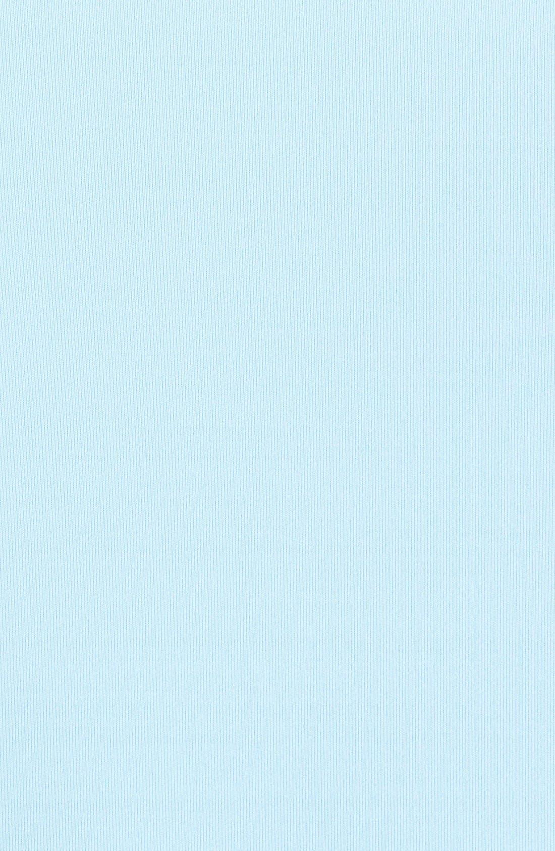 'Perth' Quarter Zip Pullover,                             Alternate thumbnail 3, color,                             COTTAGE BLUE