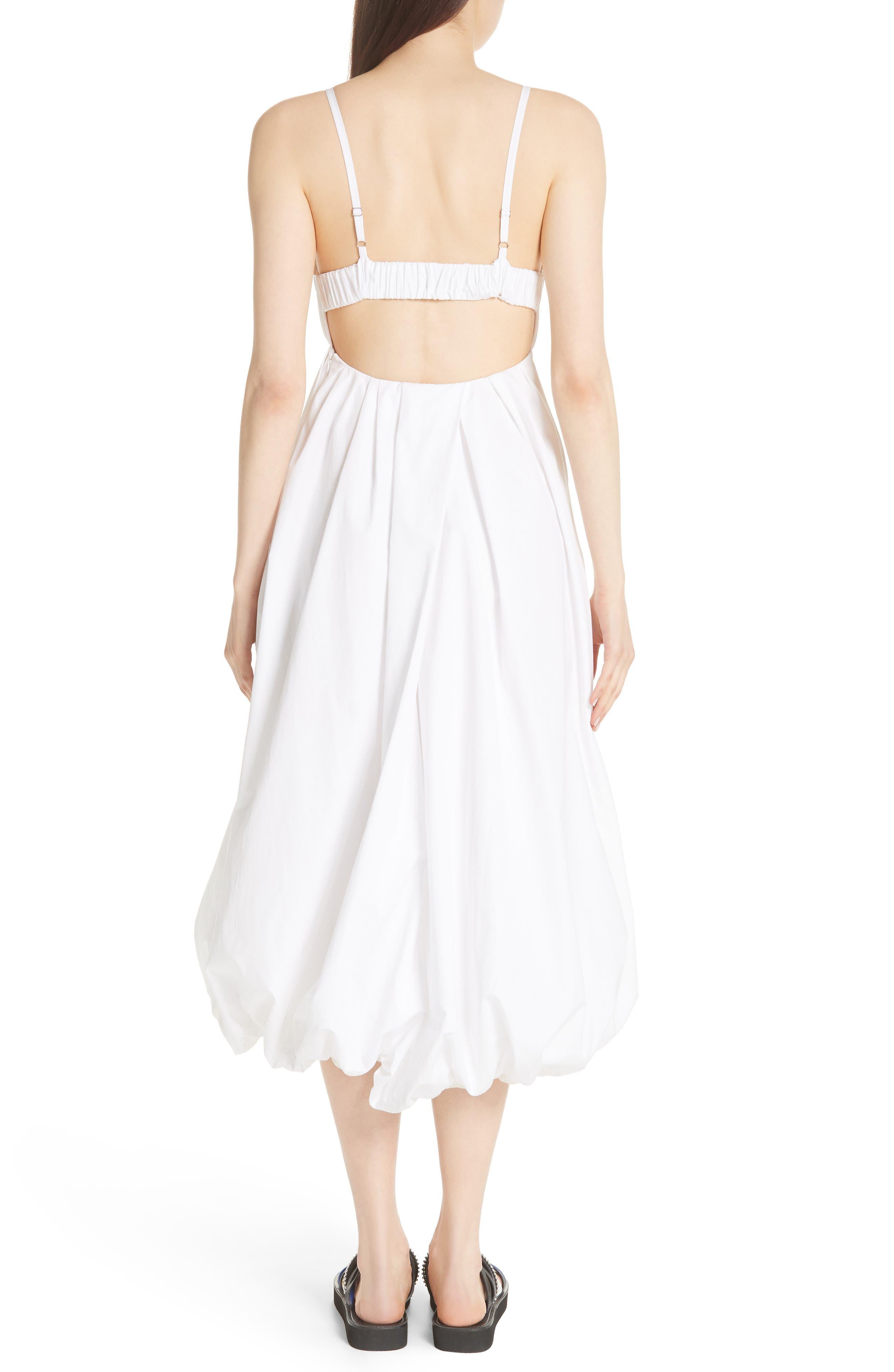 Bubble Hem Dress,                             Alternate thumbnail 2, color,                             400