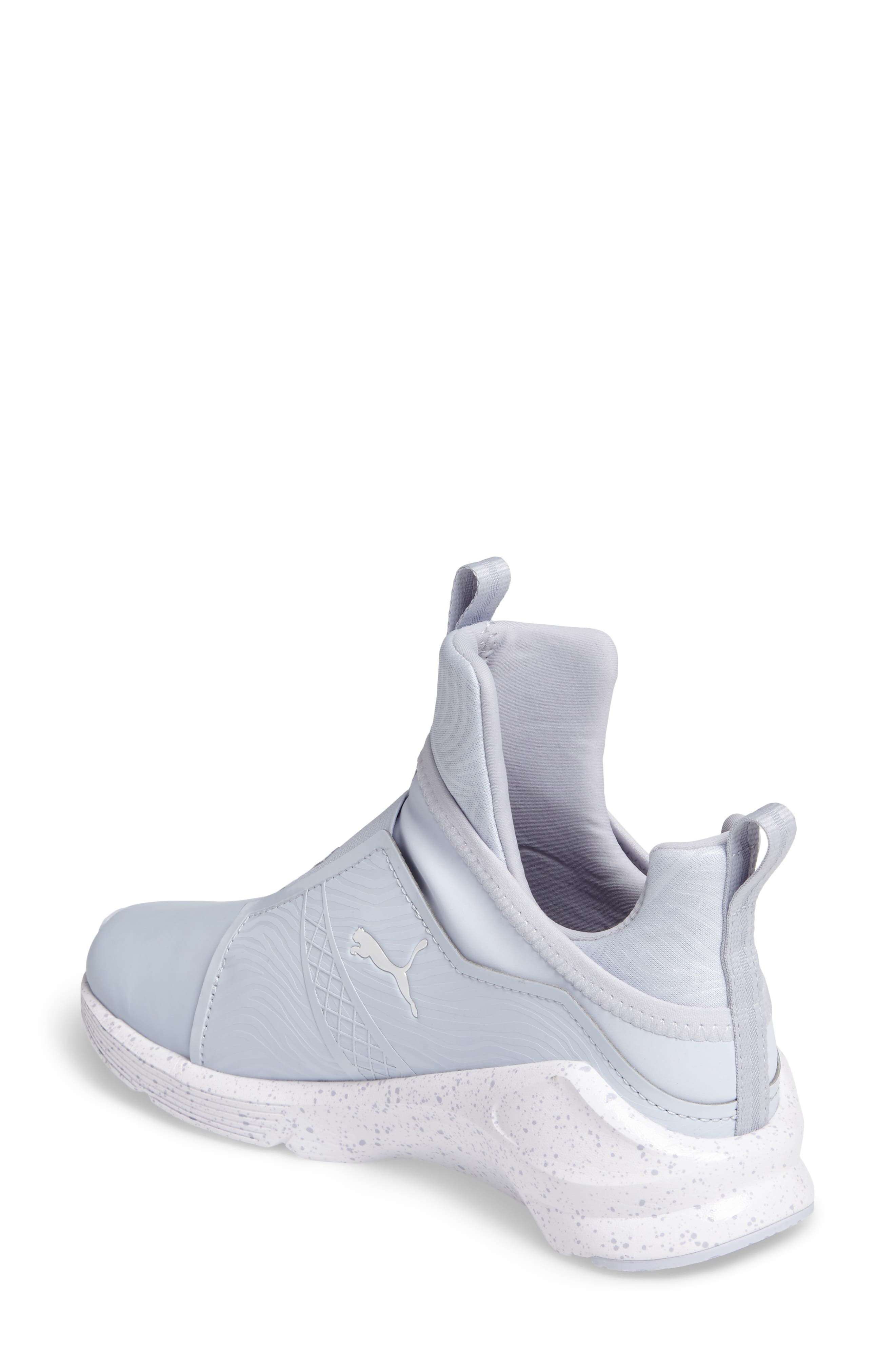 Fierce Bleached High Top Sneaker,                             Alternate thumbnail 2, color,                             400