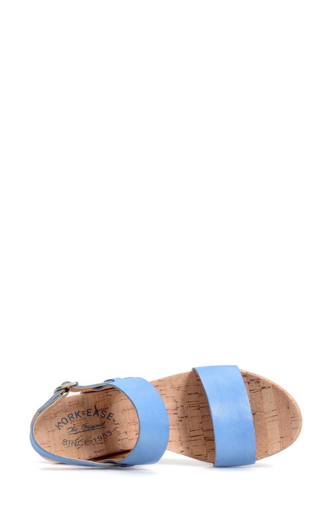 'Austin' Slingback Wedge Sandal,                             Alternate thumbnail 29, color,