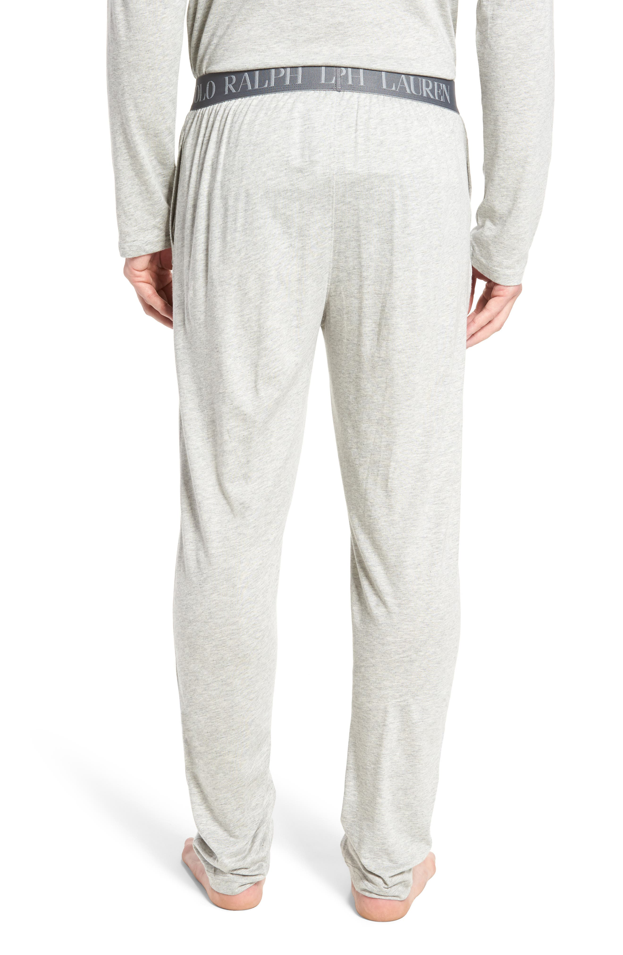 Cotton & Modal Lounge Pants,                             Alternate thumbnail 4, color,