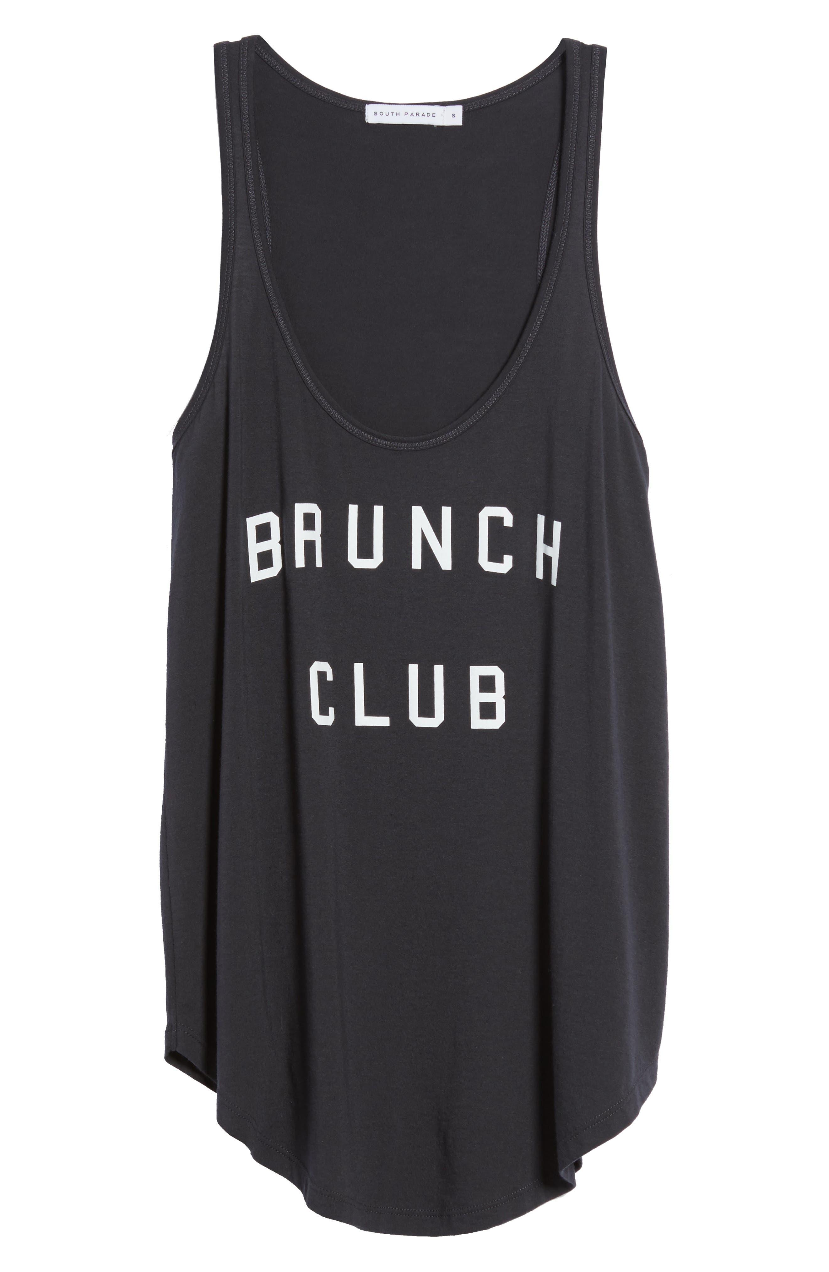 Brunch Club Tank,                             Alternate thumbnail 6, color,                             001