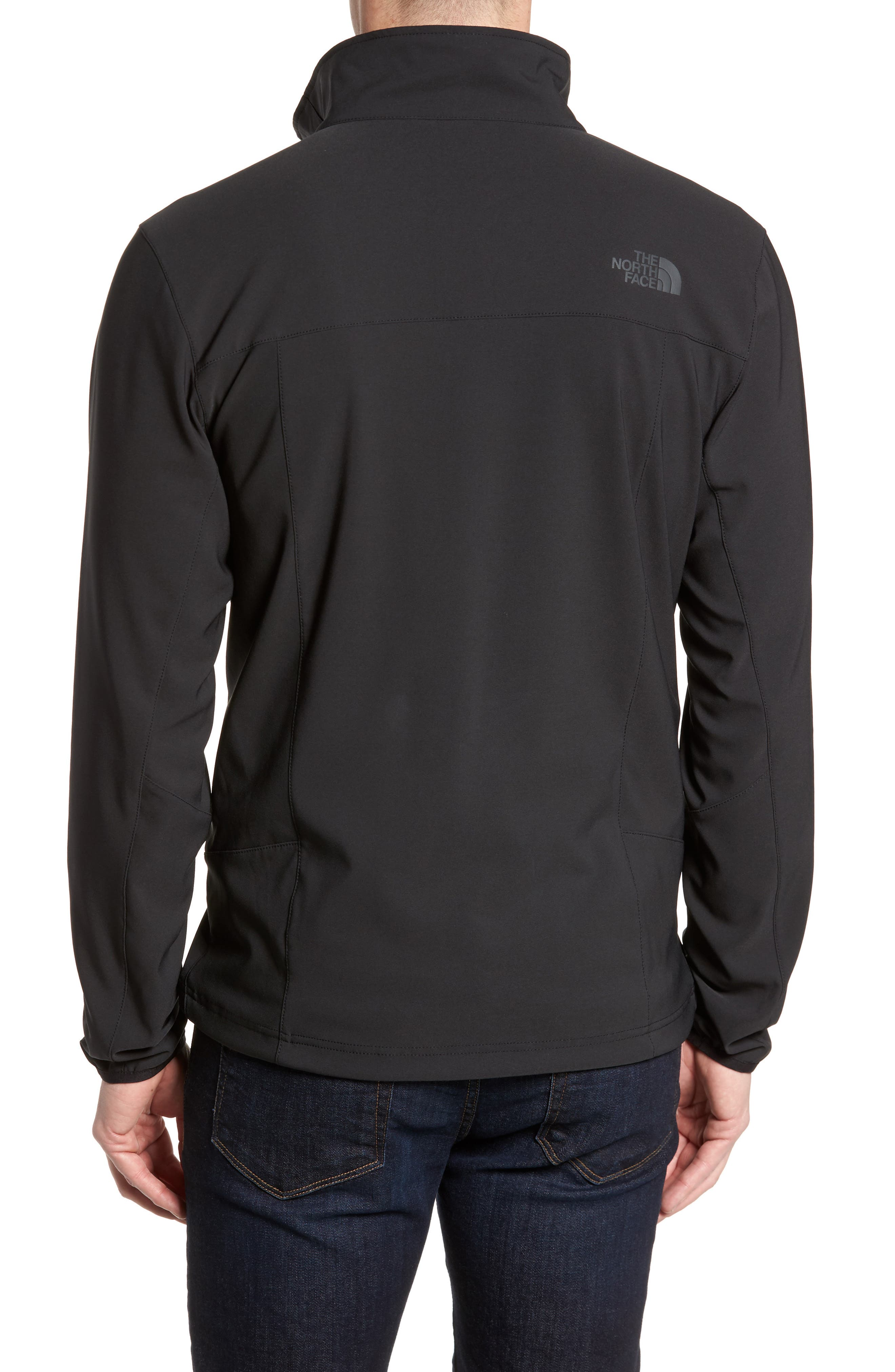 Apex Nimble Jacket,                             Alternate thumbnail 2, color,                             BLACK/ BLACK