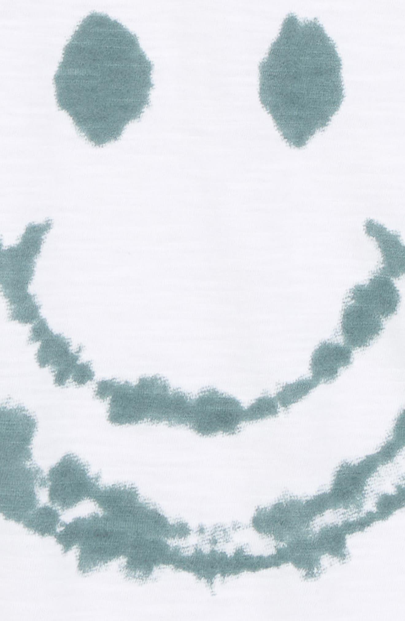 Smile Face T-Shirt,                             Alternate thumbnail 2, color,                             100