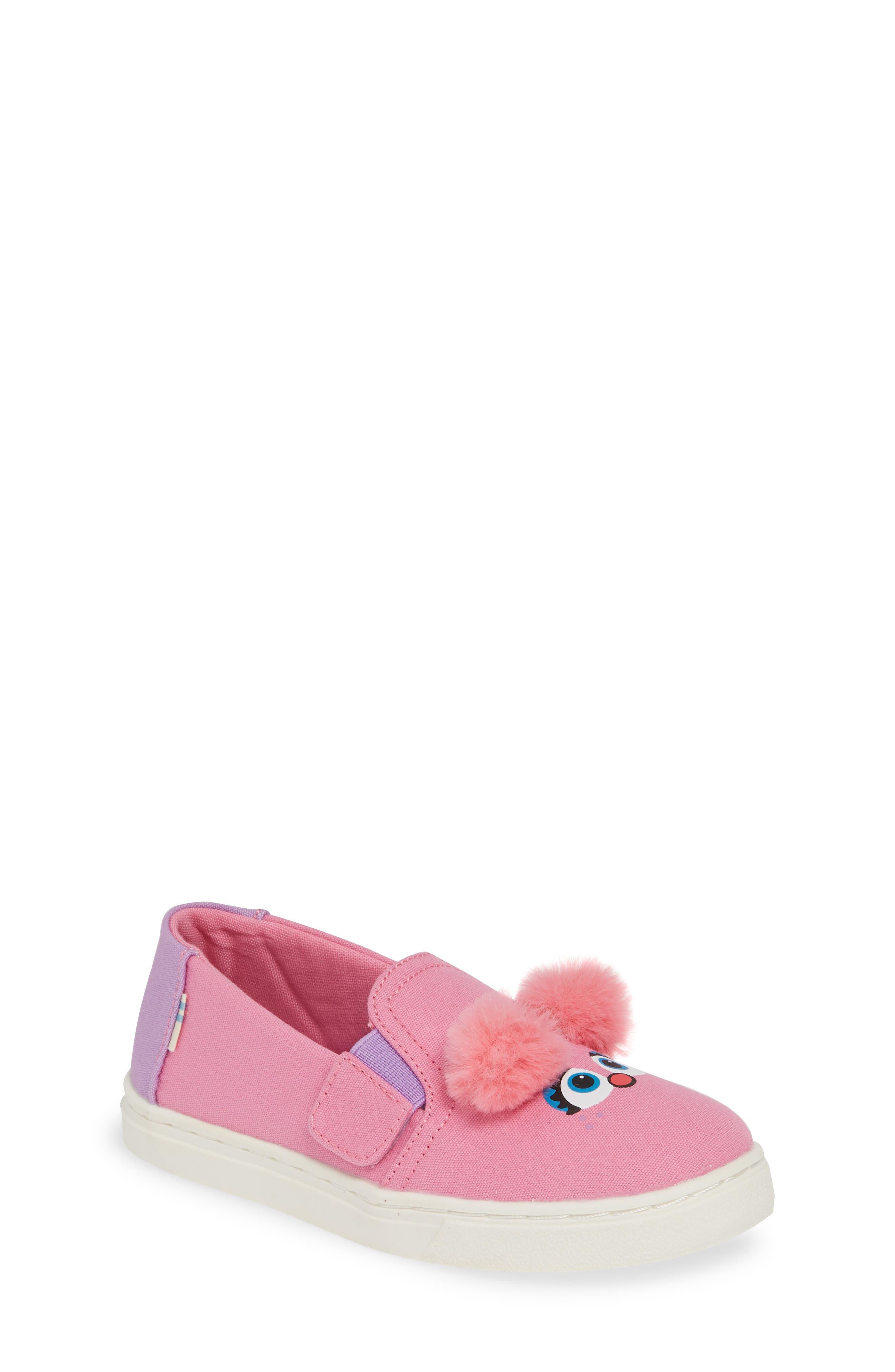 Toms X Sesame Street Luca - Abby Slip-On Sneaker