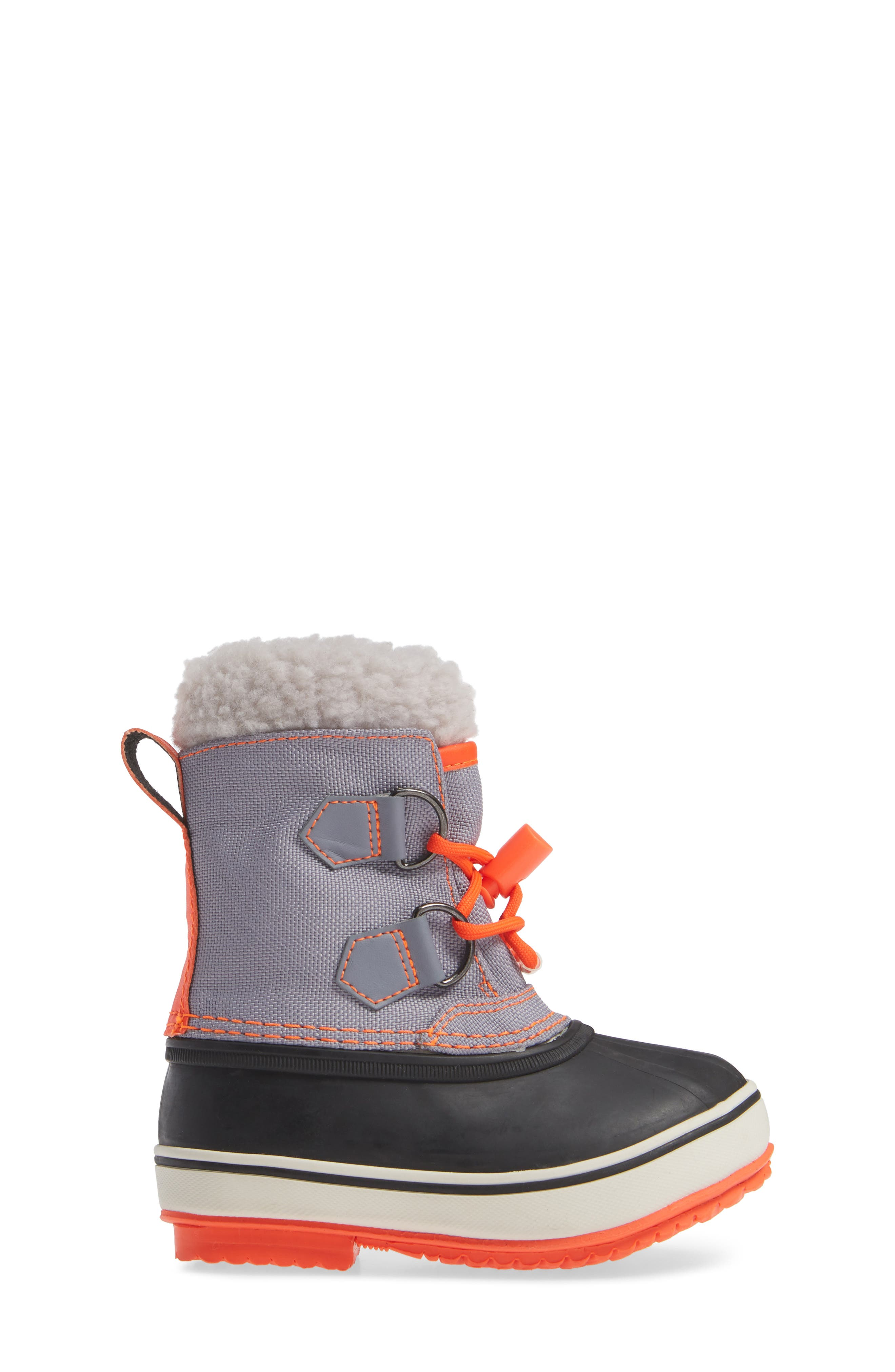 Waterproof Snow Boots,                             Alternate thumbnail 3, color,                             STARBOARD BLUE