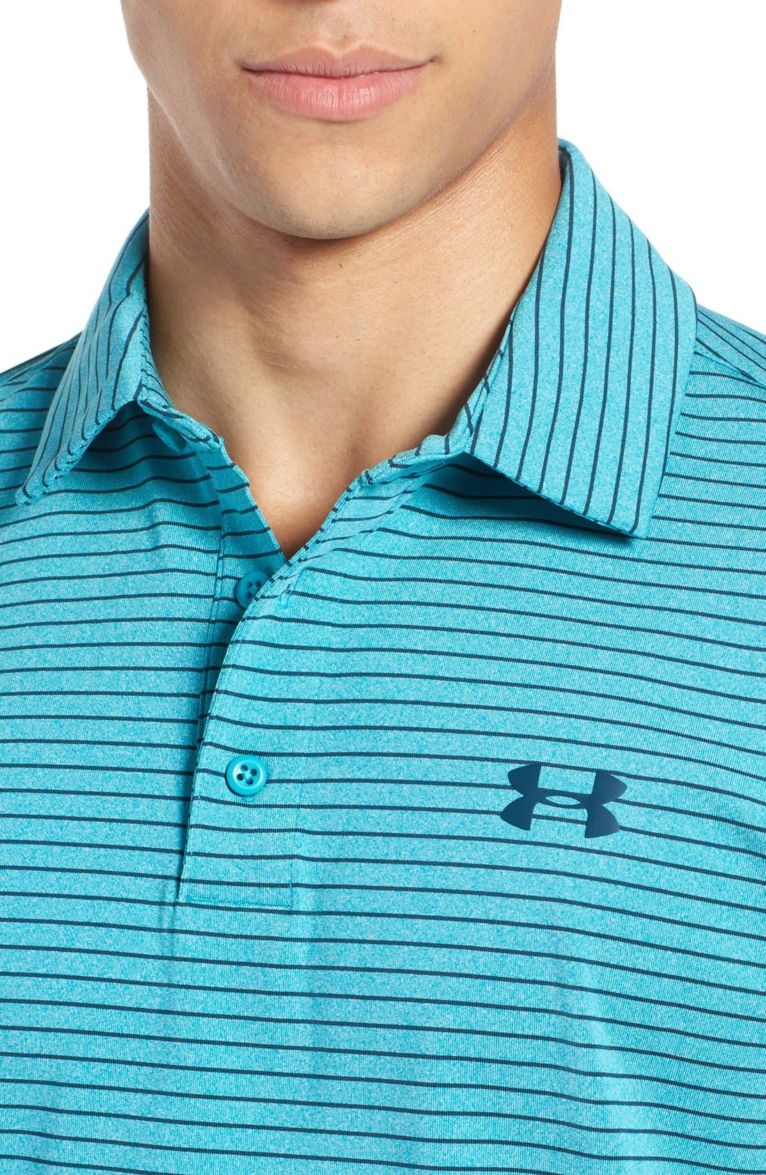 'Playoff' Loose Fit Short Sleeve Polo,                             Alternate thumbnail 217, color,