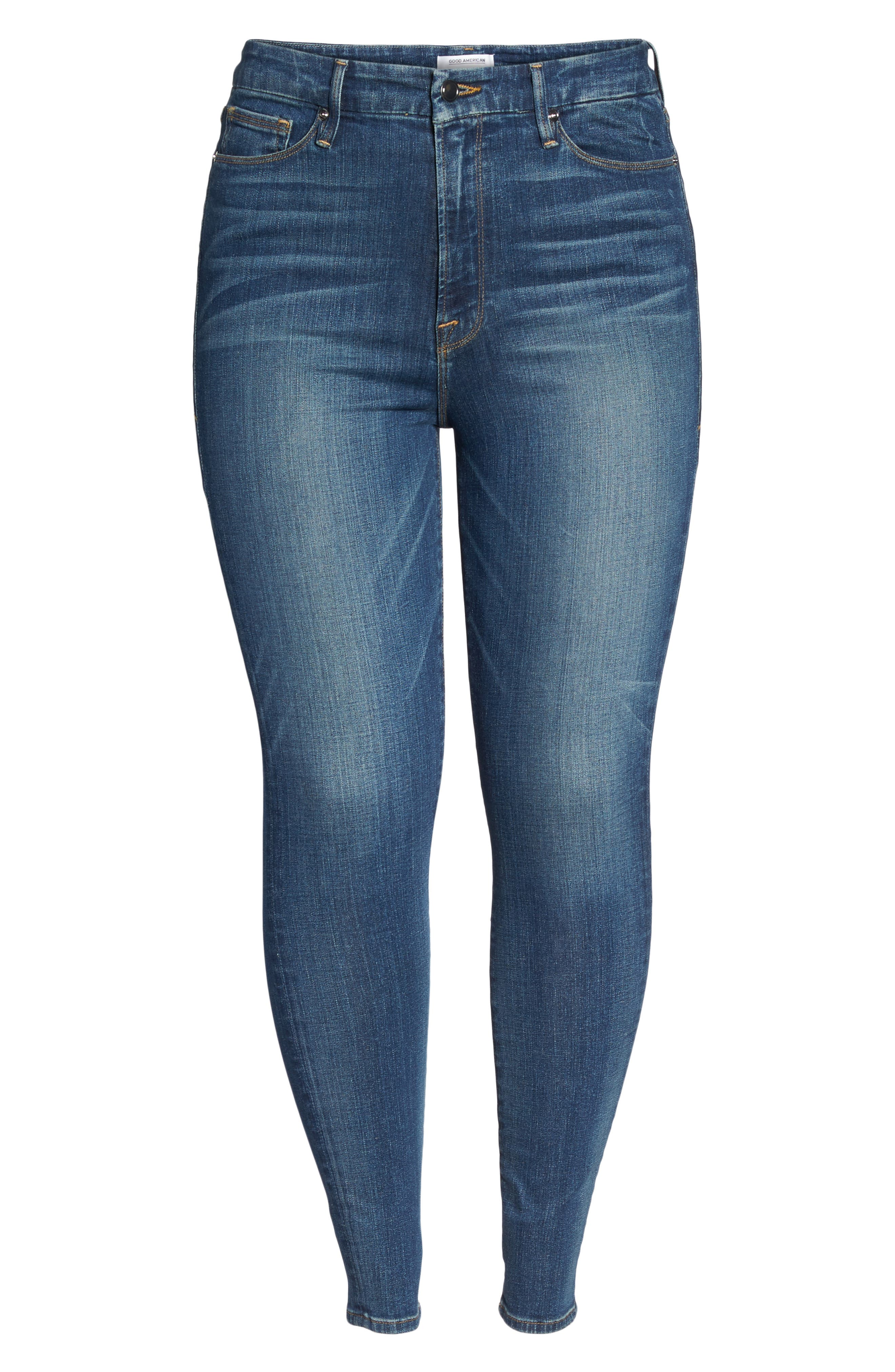 Good Waist High Waist Skinny Jeans,                             Alternate thumbnail 16, color,