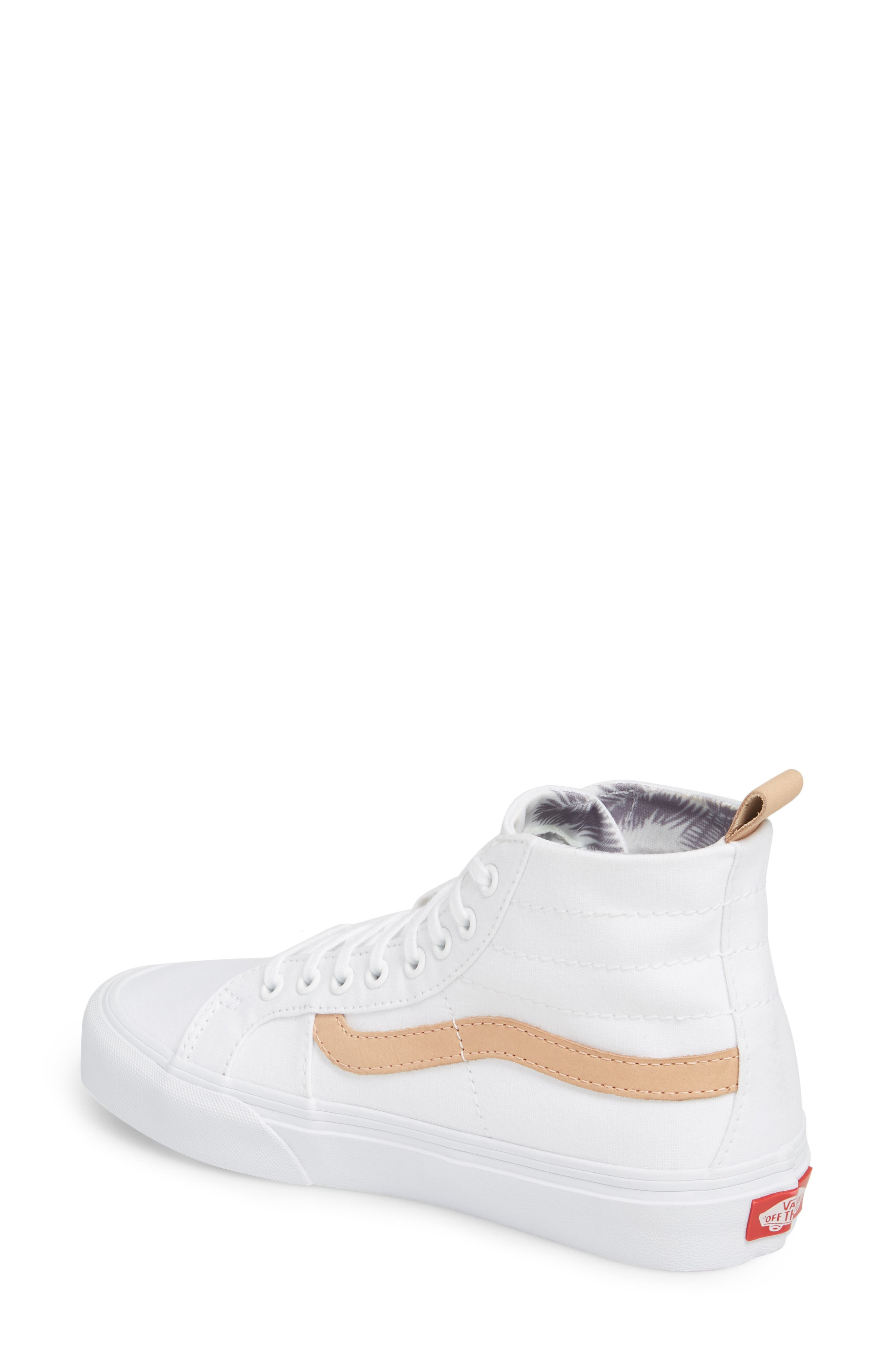 x Leila Hurst Sk8-Hi Decon SF Sneaker,                             Alternate thumbnail 2, color,                             100