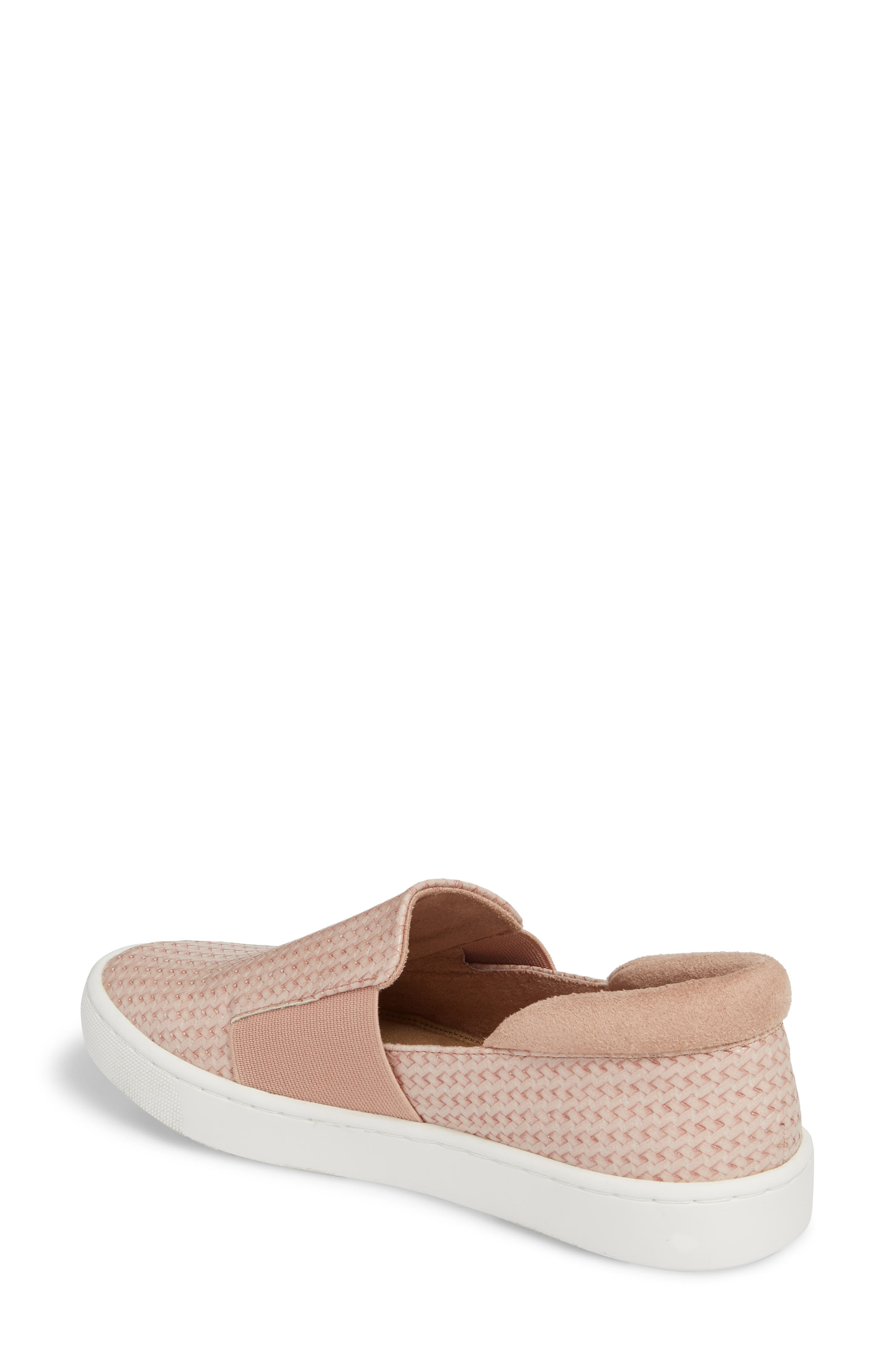 Ramp II Slip-On Sneaker,                             Alternate thumbnail 2, color,                             BLUSH FABRIC