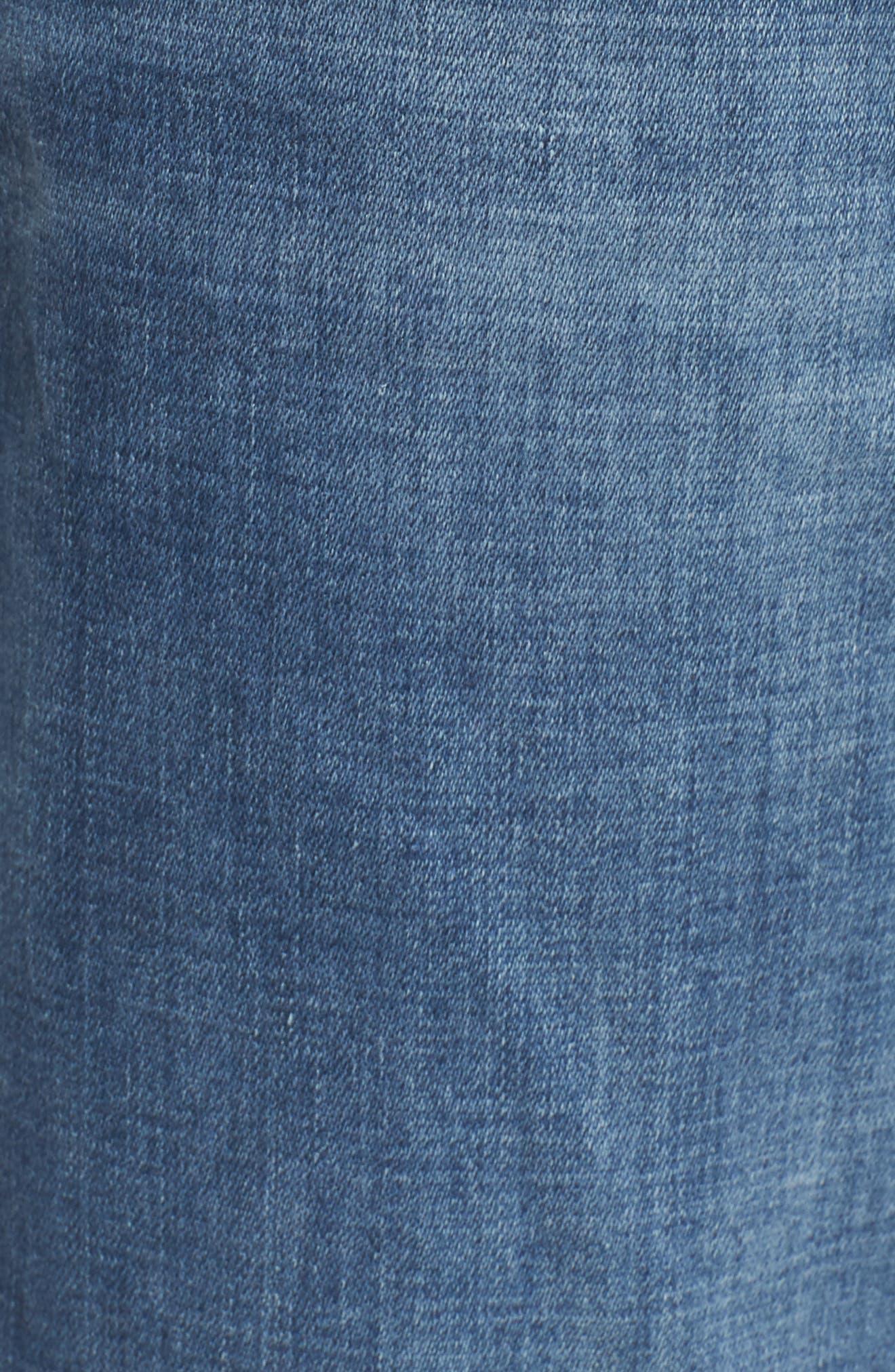 Geno Straight Leg Jeans,                             Alternate thumbnail 5, color,