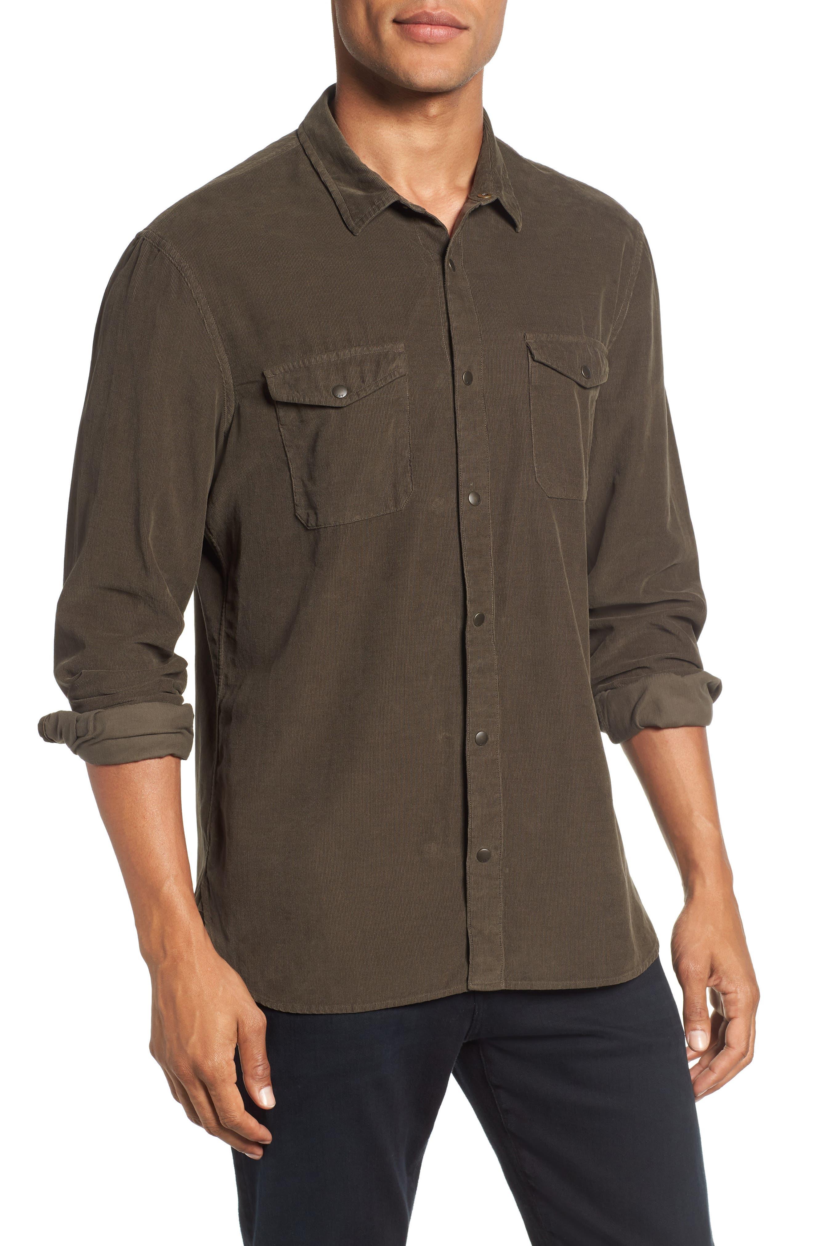 Corduroy Shirt,                             Main thumbnail 1, color,                             391