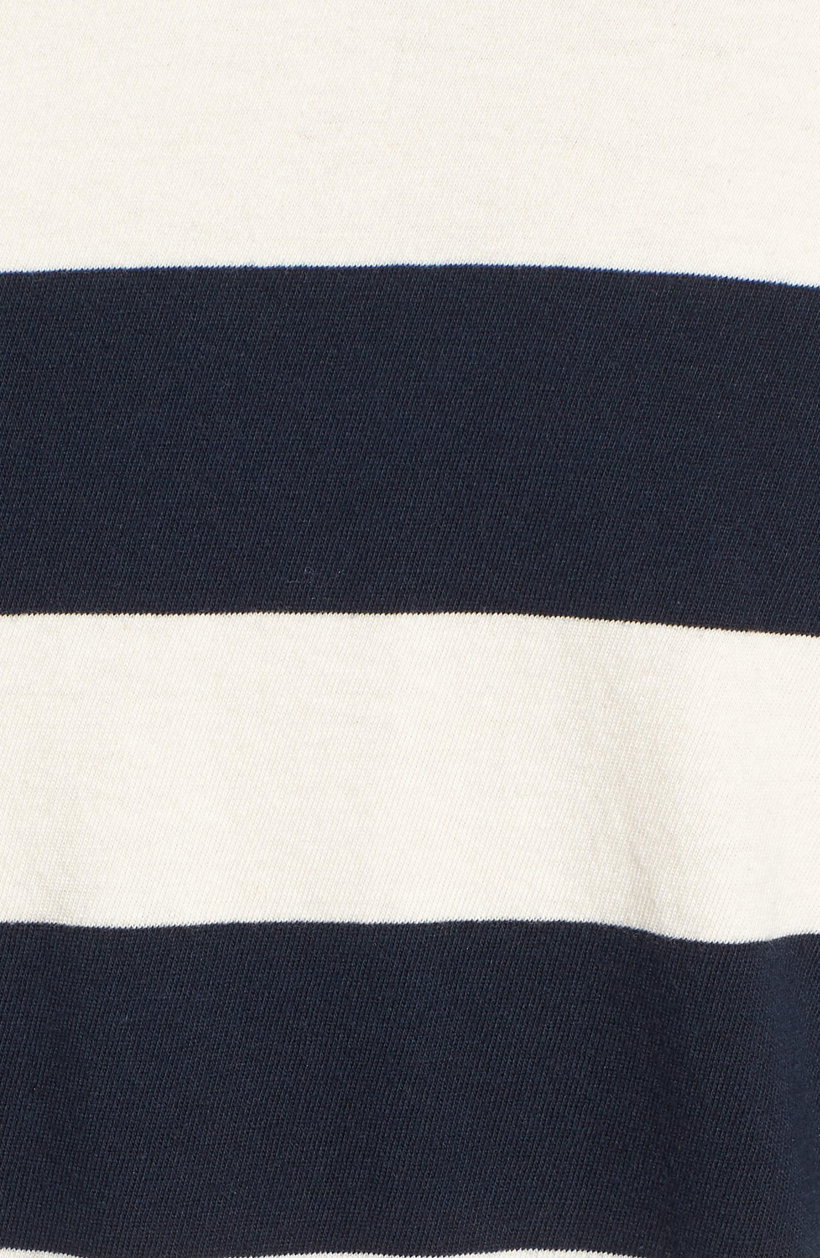 Stripe Twist Tee,                             Alternate thumbnail 5, color,                             900