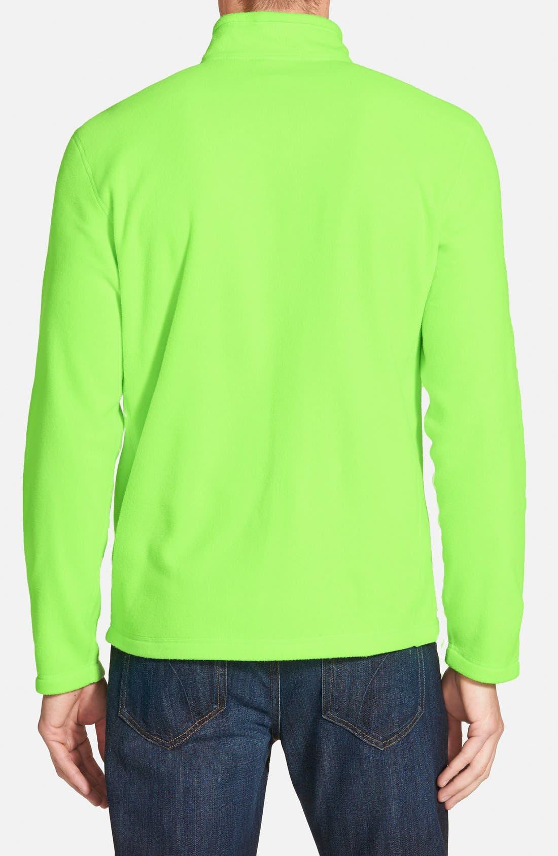 'TKA 100 Glacier' Quarter Zip Fleece Pullover,                             Alternate thumbnail 74, color,