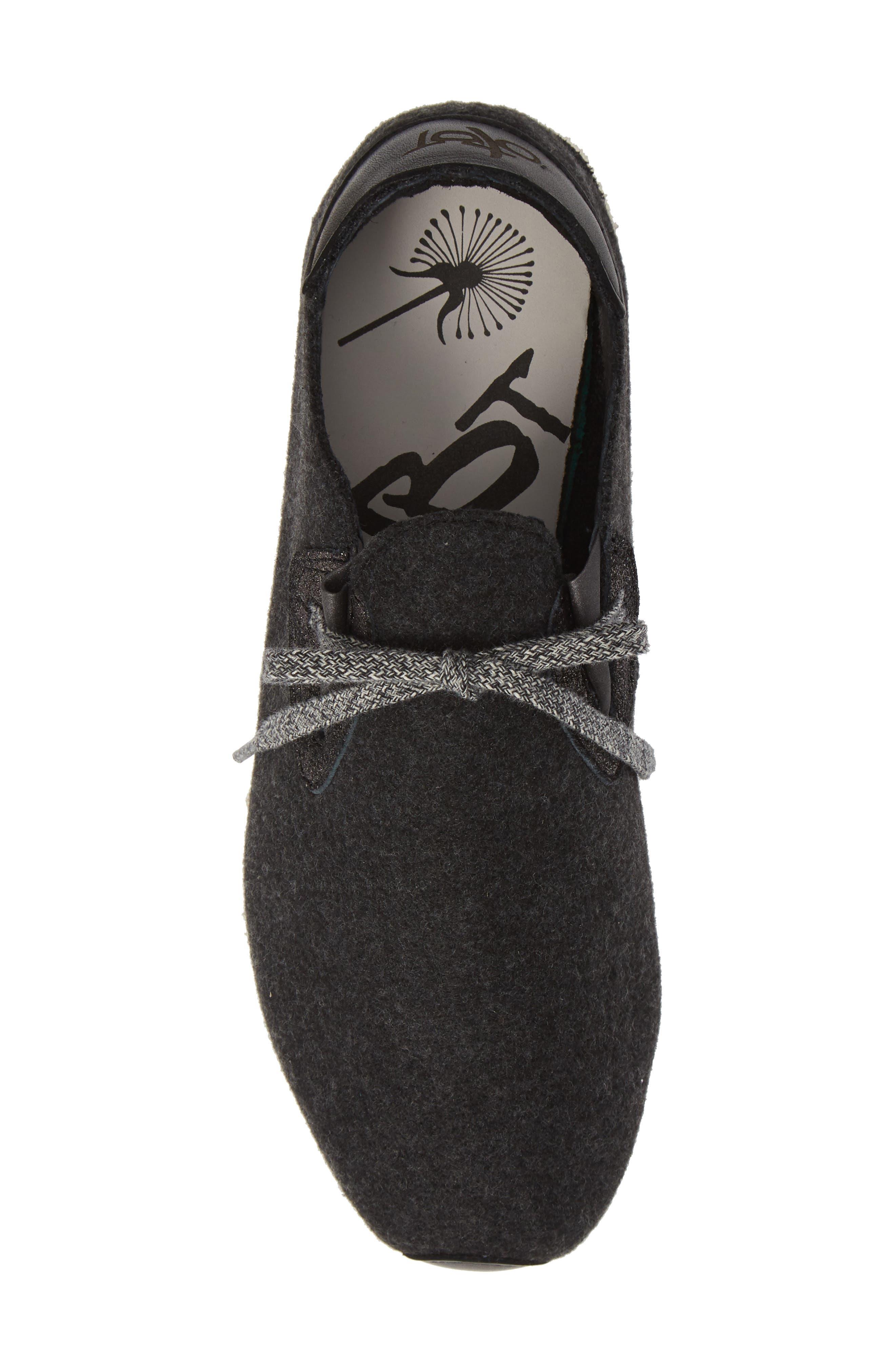 Radius Sneaker,                             Alternate thumbnail 5, color,                             CHARCOAL