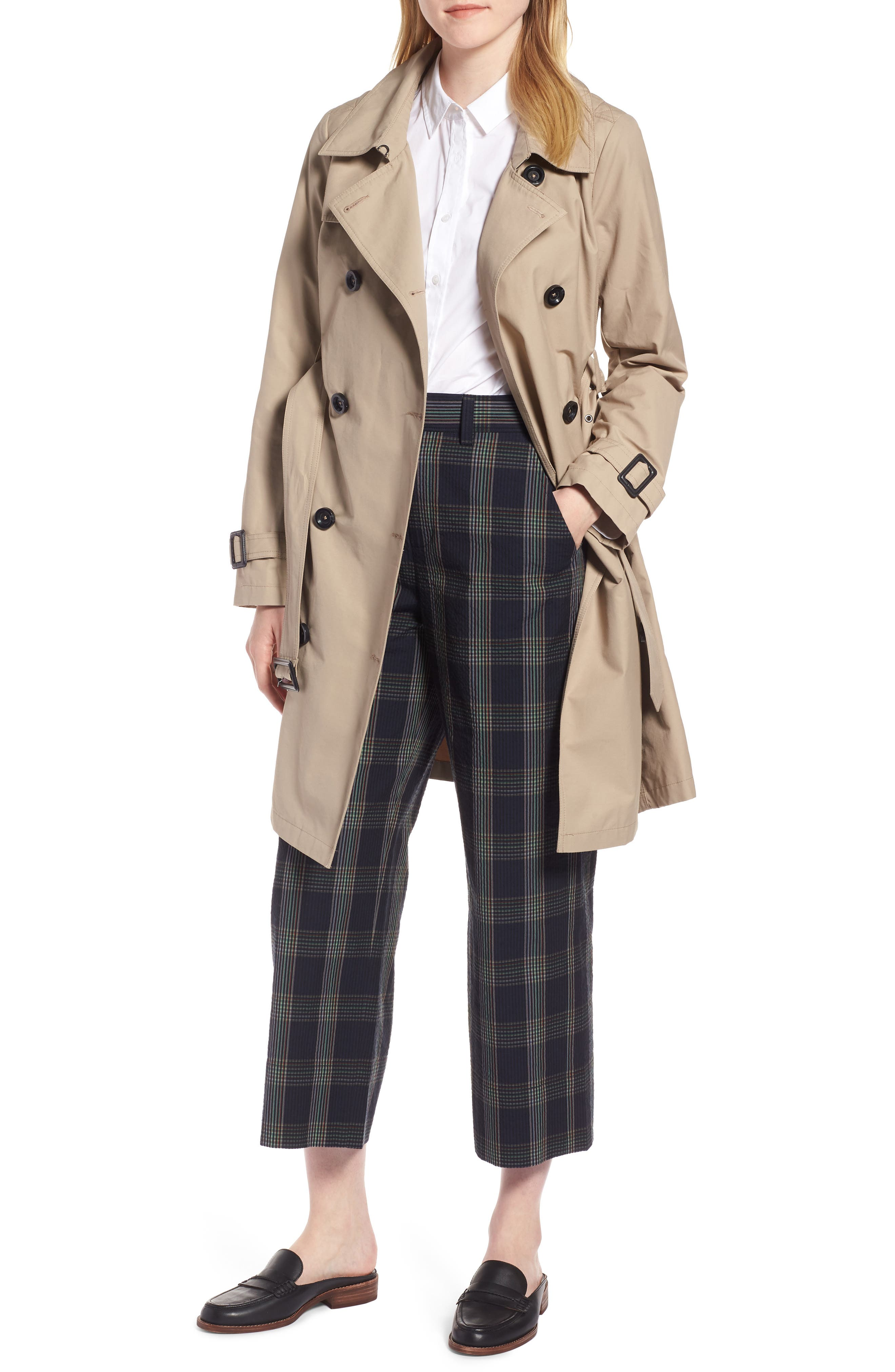 3-in-1 Trench Coat with Vest,                             Alternate thumbnail 2, color,                             299