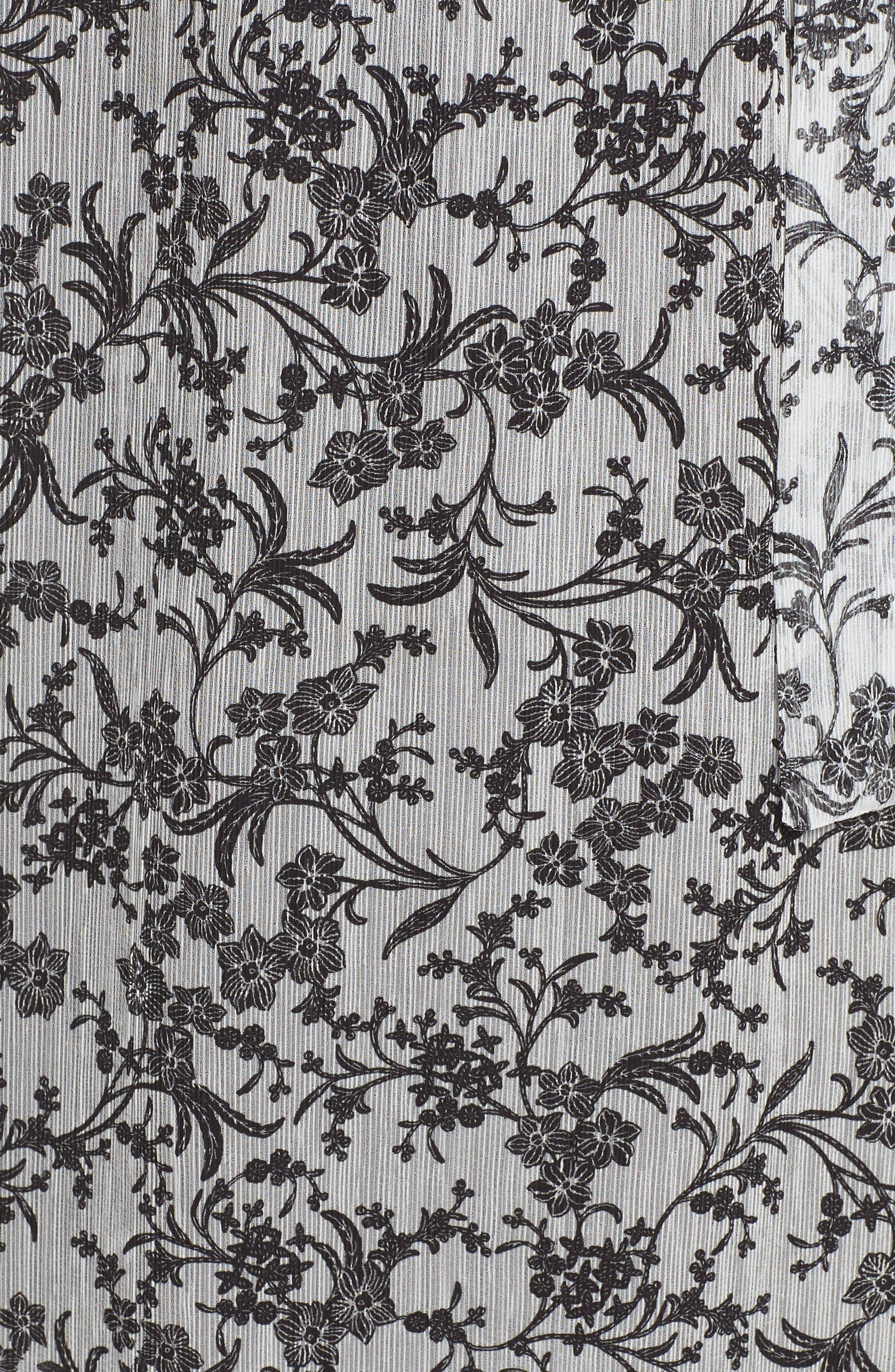 Cold Shoulder Chiffon Dress,                             Alternate thumbnail 6, color,                             114