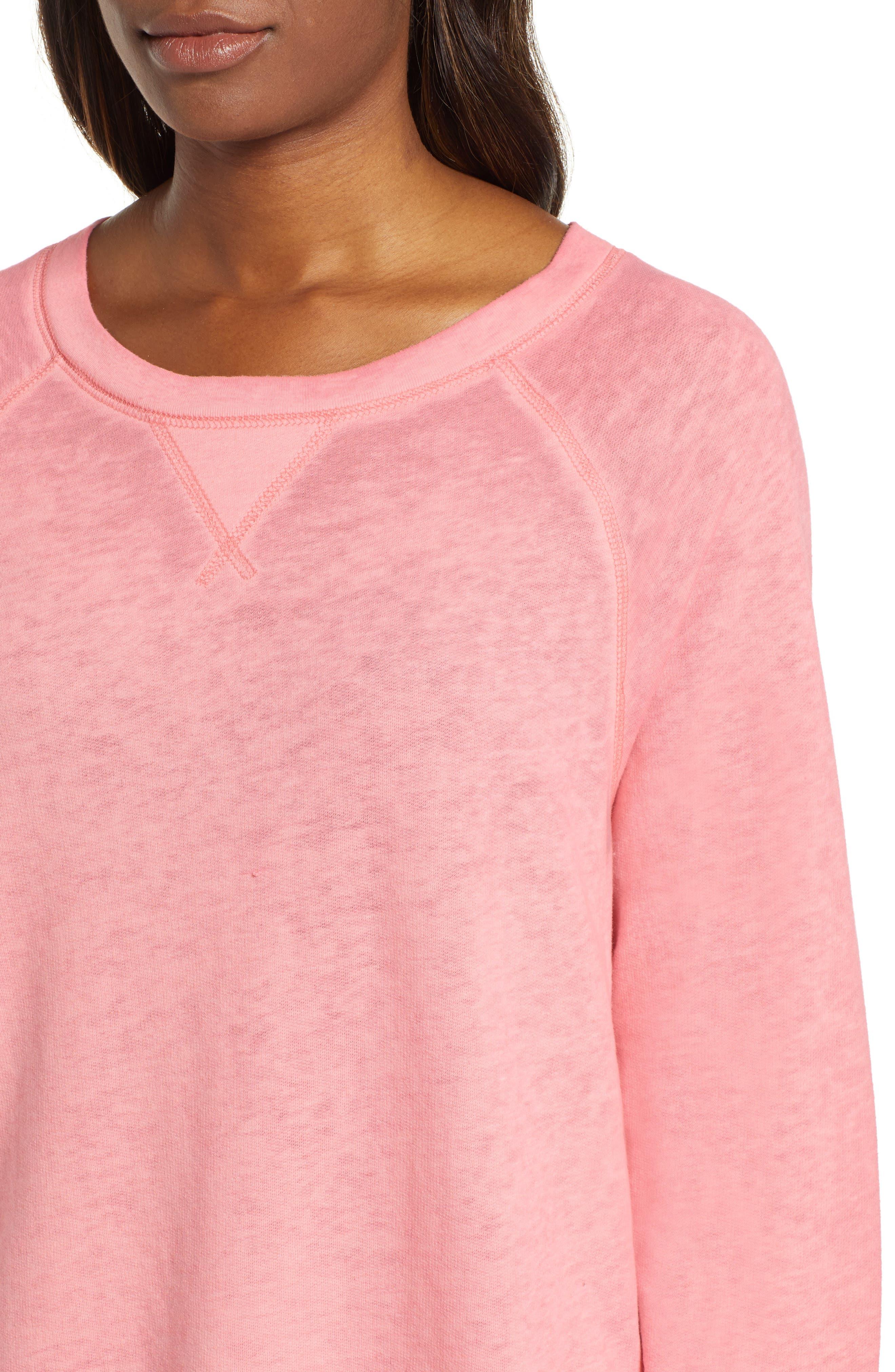 Burnout Sweatshirt,                             Alternate thumbnail 70, color,