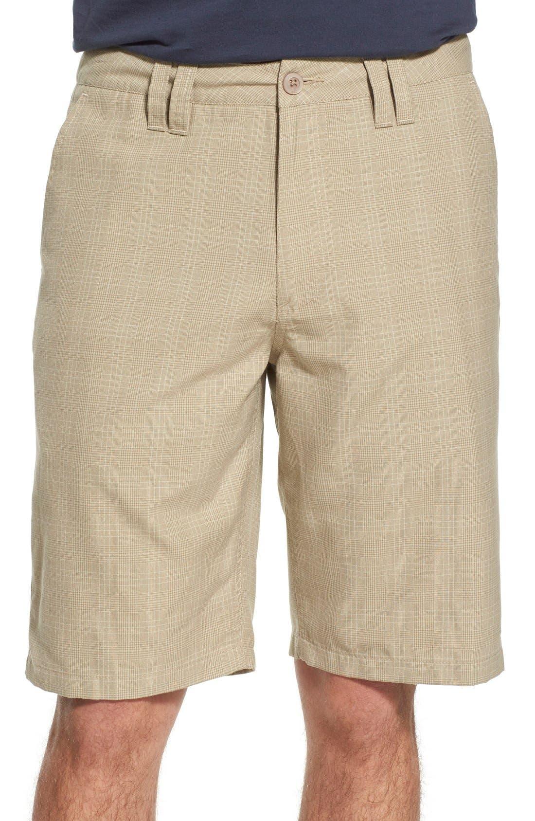'Delta Plaid' Chino Shorts,                             Main thumbnail 5, color,