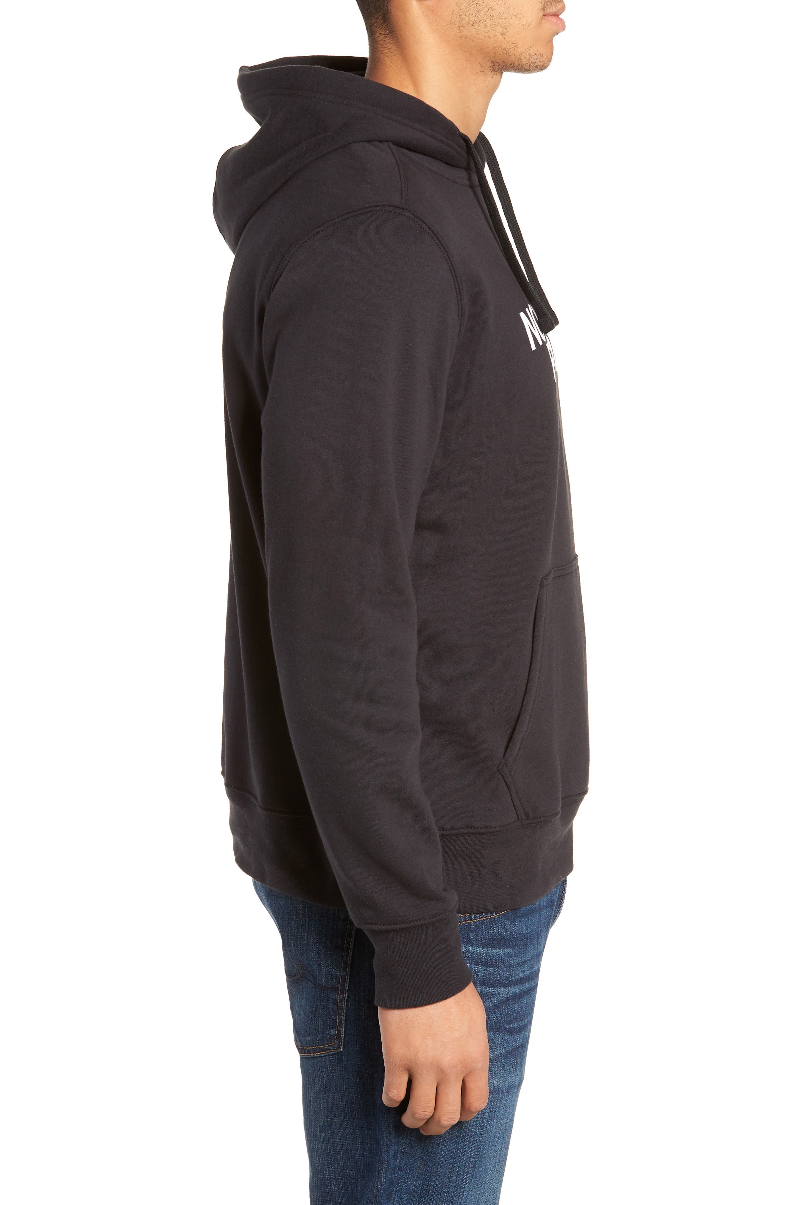 Holiday Half Dome Hooded Pullover,                             Alternate thumbnail 3, color,                             001