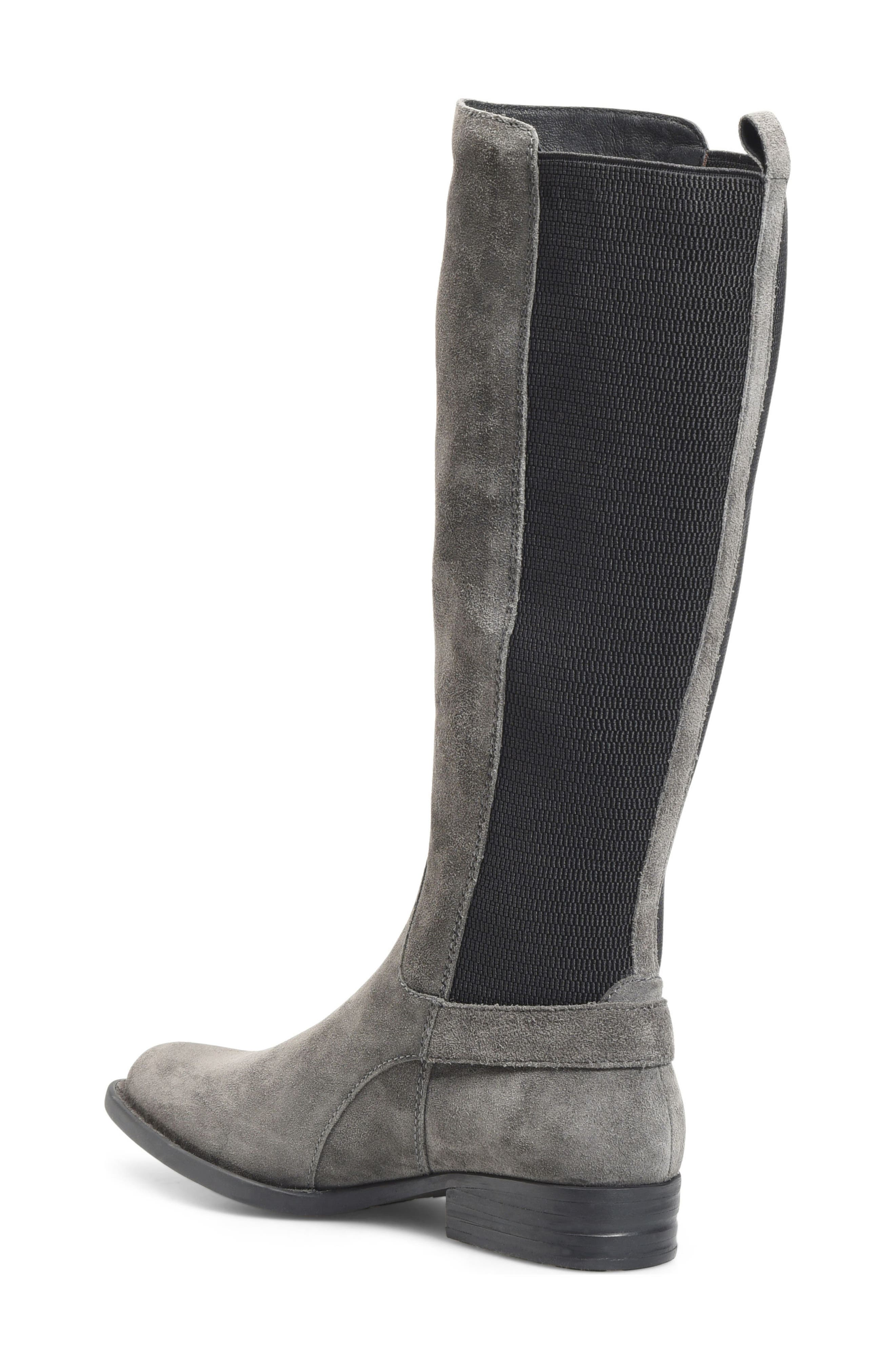 Campbell Knee High Elastic Back Boot,                             Alternate thumbnail 5, color,