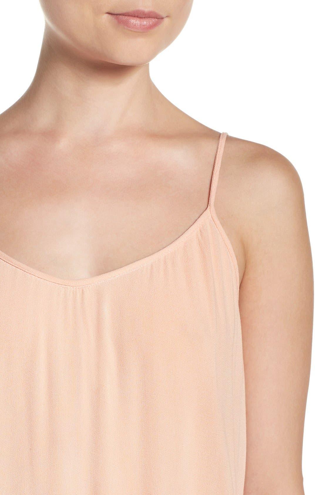 Maxi Dress,                             Alternate thumbnail 5, color,                             NAVY BLUSH
