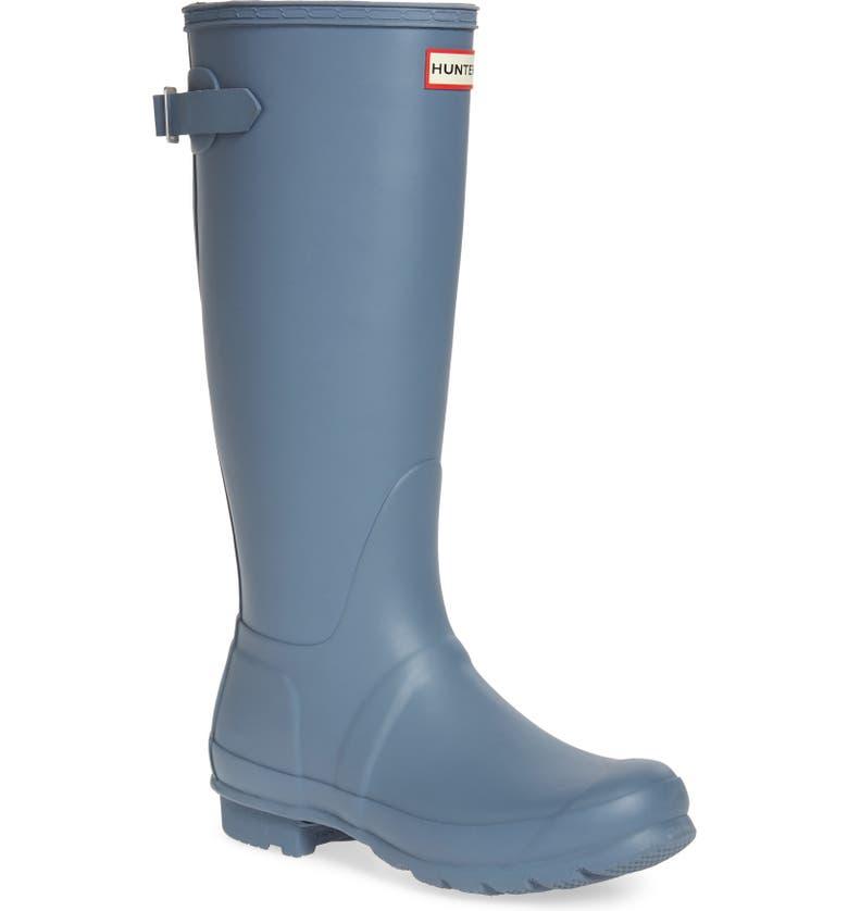 Hunter Original Tall Adjustable Back Waterproof Rain Boot (Women ... 18c0d768a3