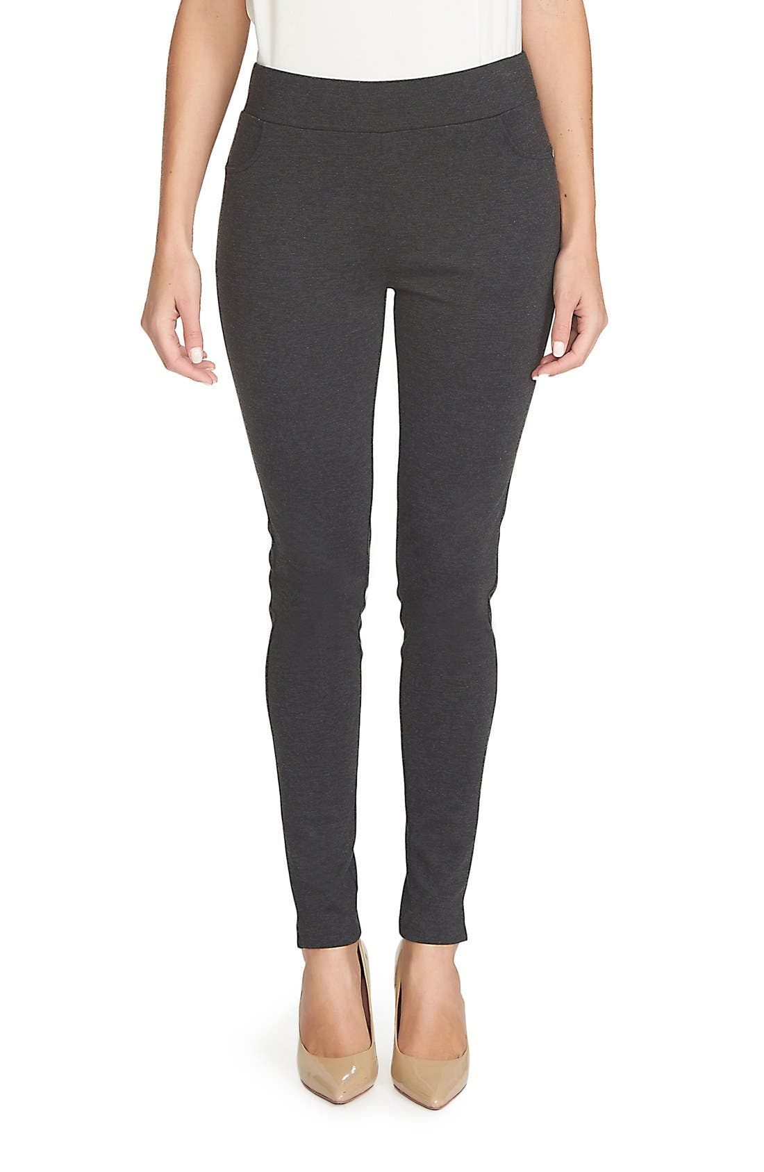 Ponte Knit Leggings,                             Main thumbnail 2, color,